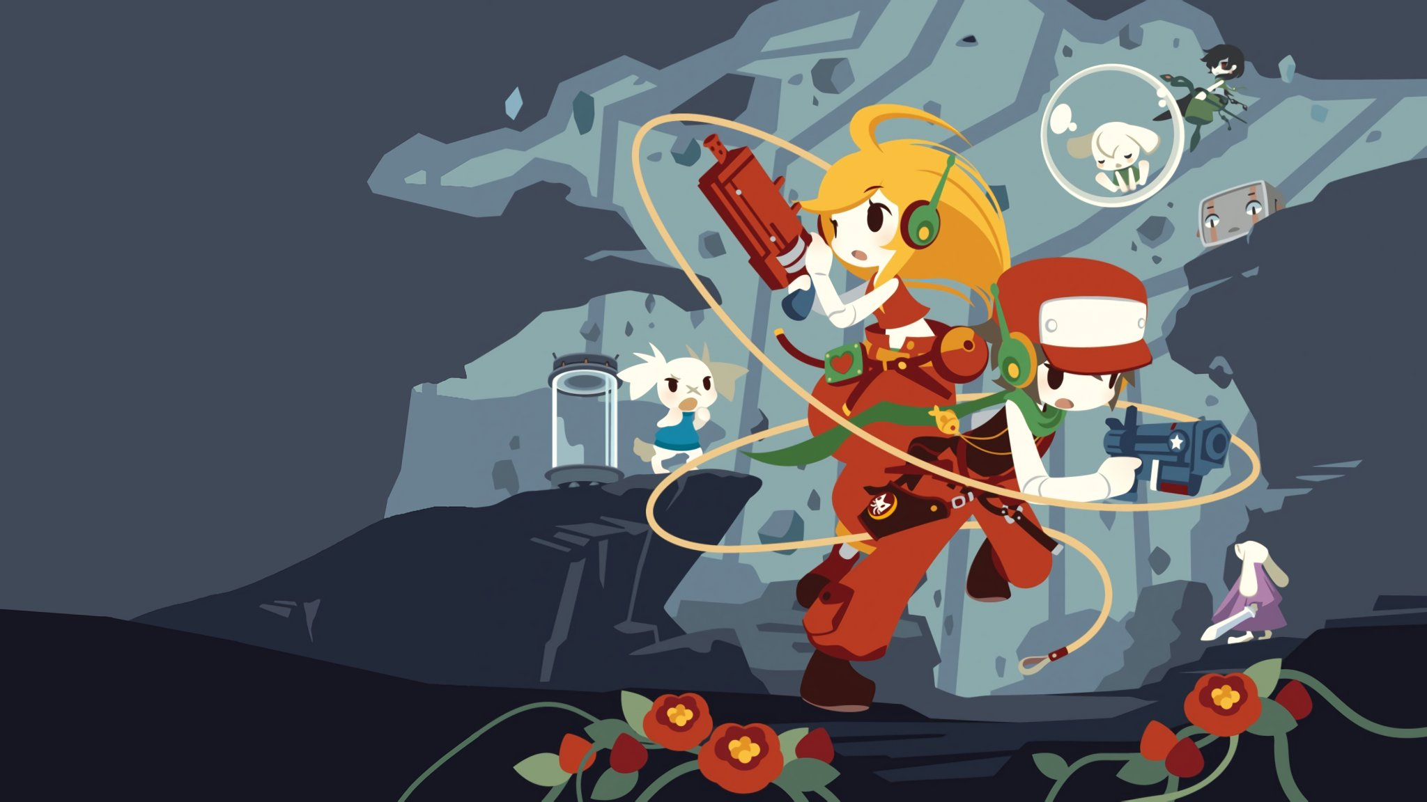 Cave Story's Switch port will contain an exclusive co-op mode screenshot