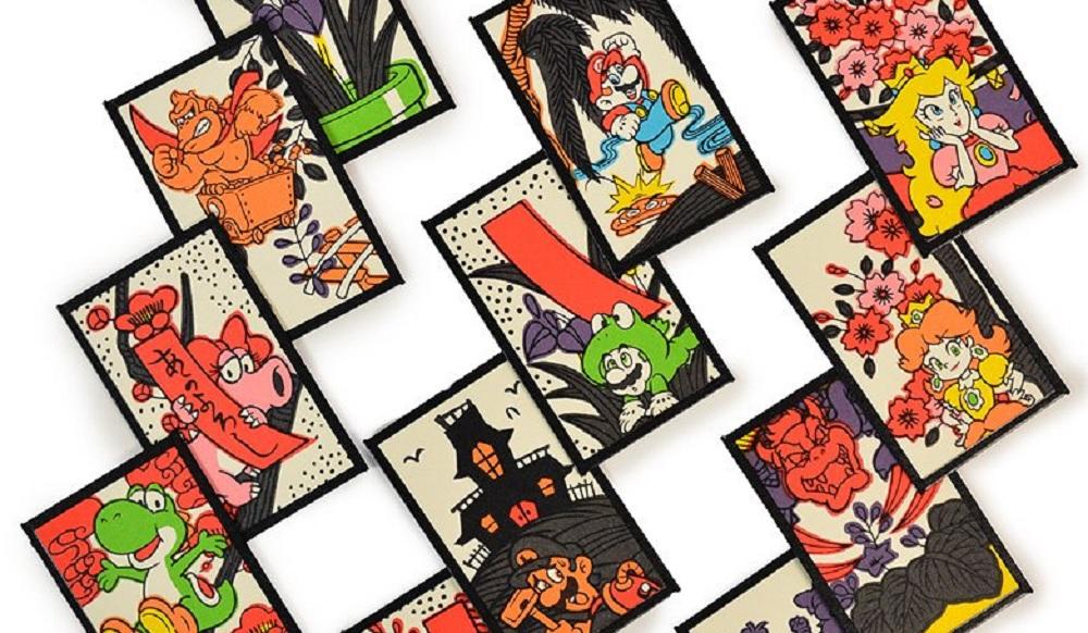 You can grab a pack of Mario Hanafuda cards at the Nintendo New York store screenshot