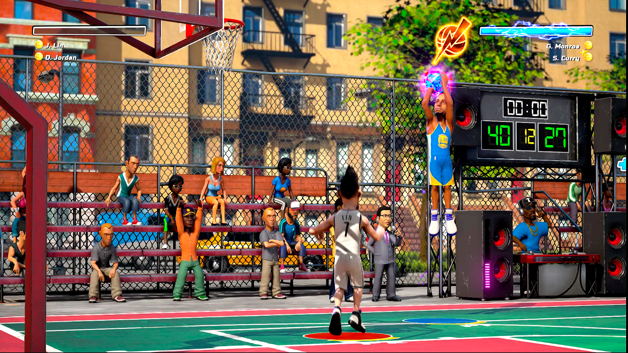 Nintendo Download: NBA Playgrounds screenshot