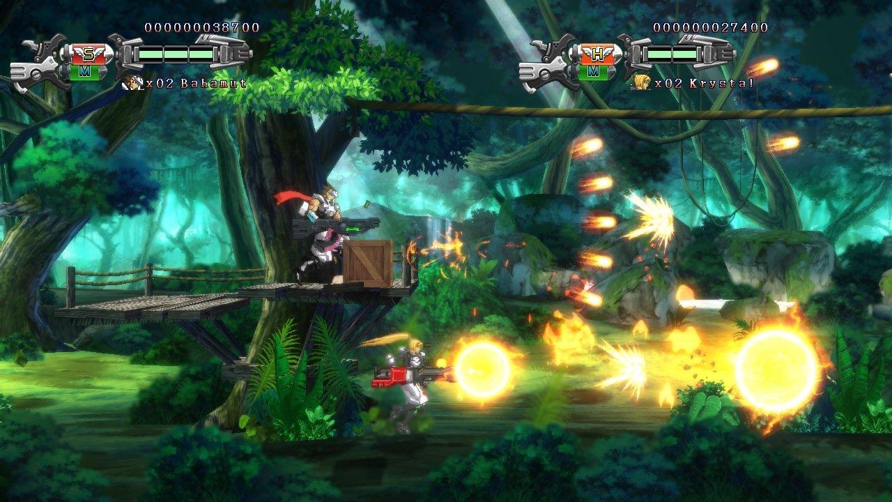 Hard Corps: Uprising joins Xbox One backward compatibility screenshot