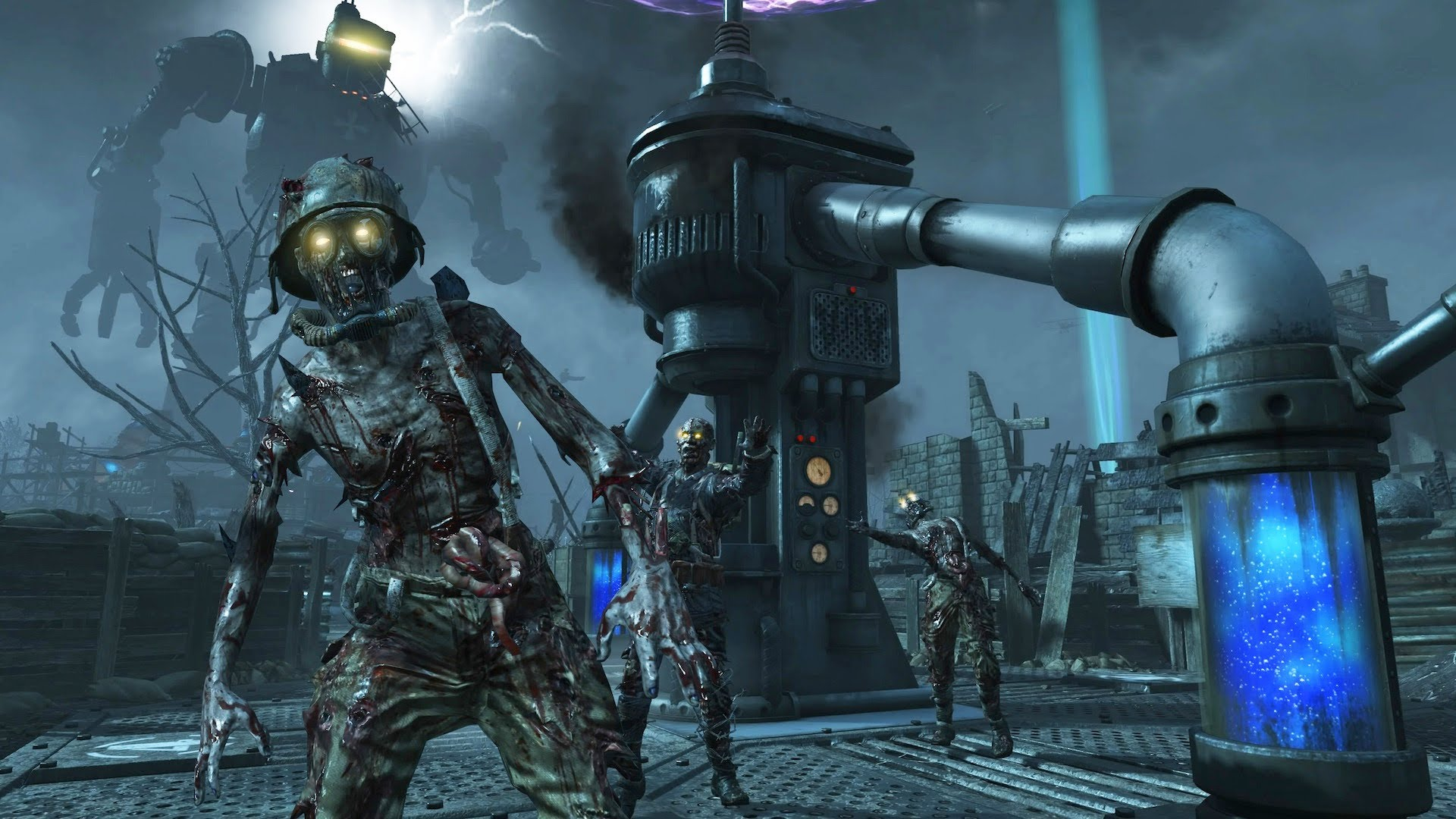 Treyarch is remastering eight clic Zombies maps for Black Ops III on