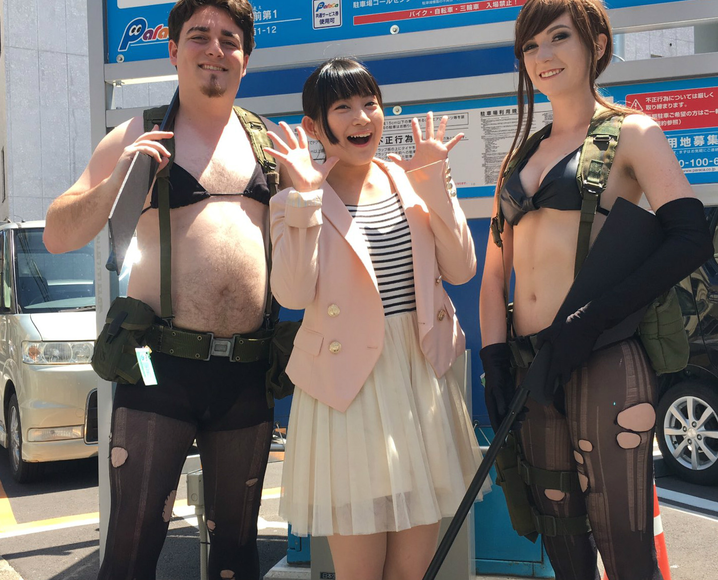 After basically being ousted from Oculus, Palmer Luckey lets loose in Japan screenshot