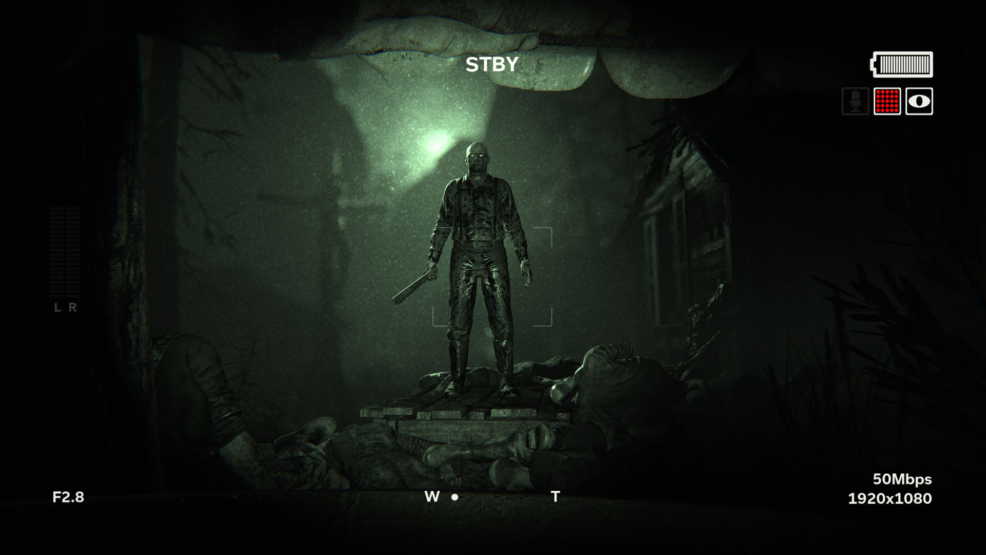 Today's Outlast 2 patch smooths out the difficulty screenshot