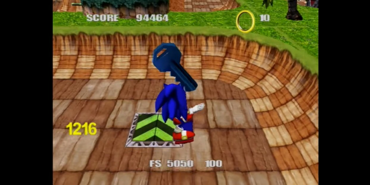 I would still play this dated, lost Sonic skateboarding game screenshot