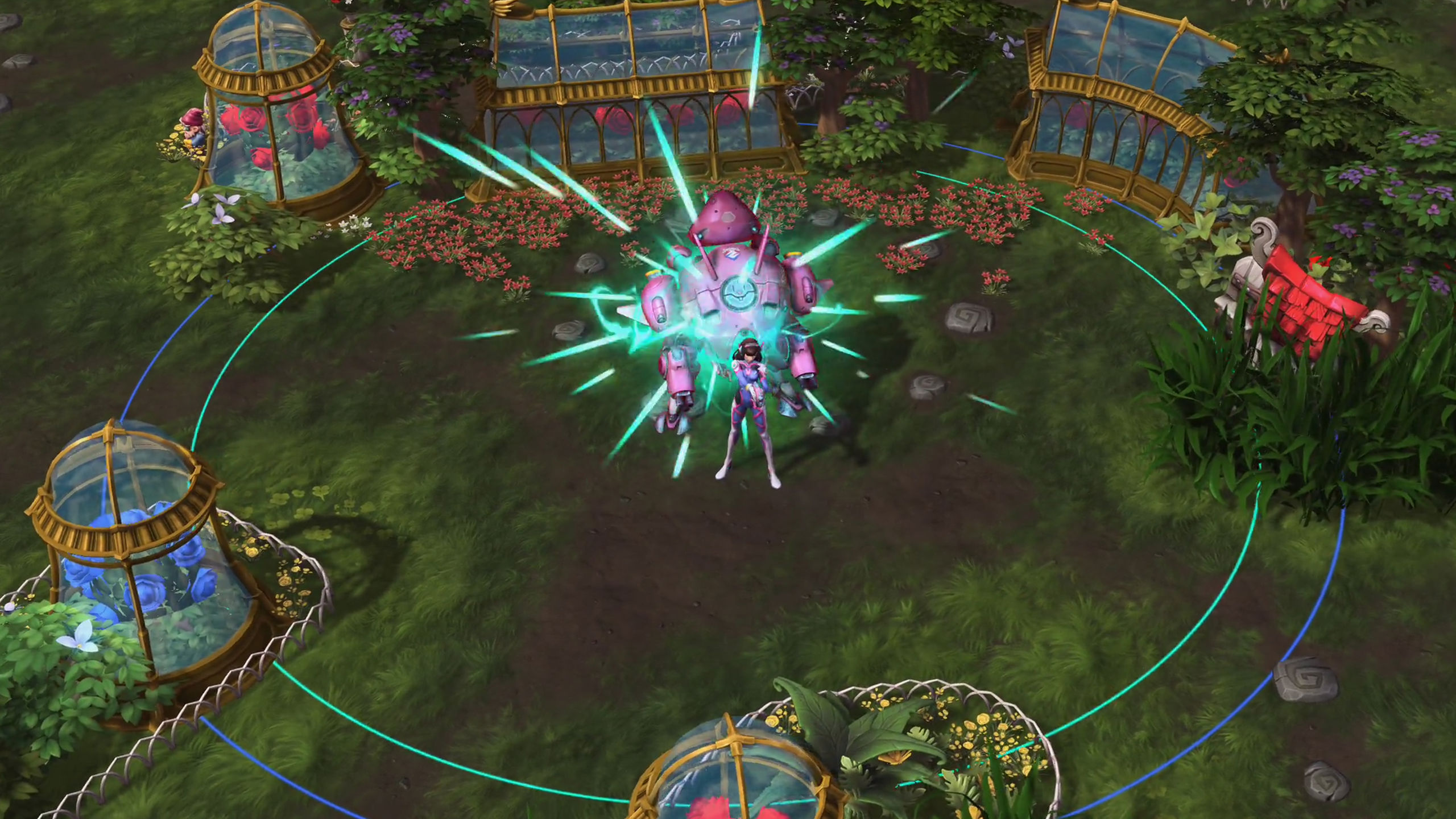 Here's a look at Heroes of the Storm's version of D.Va screenshot