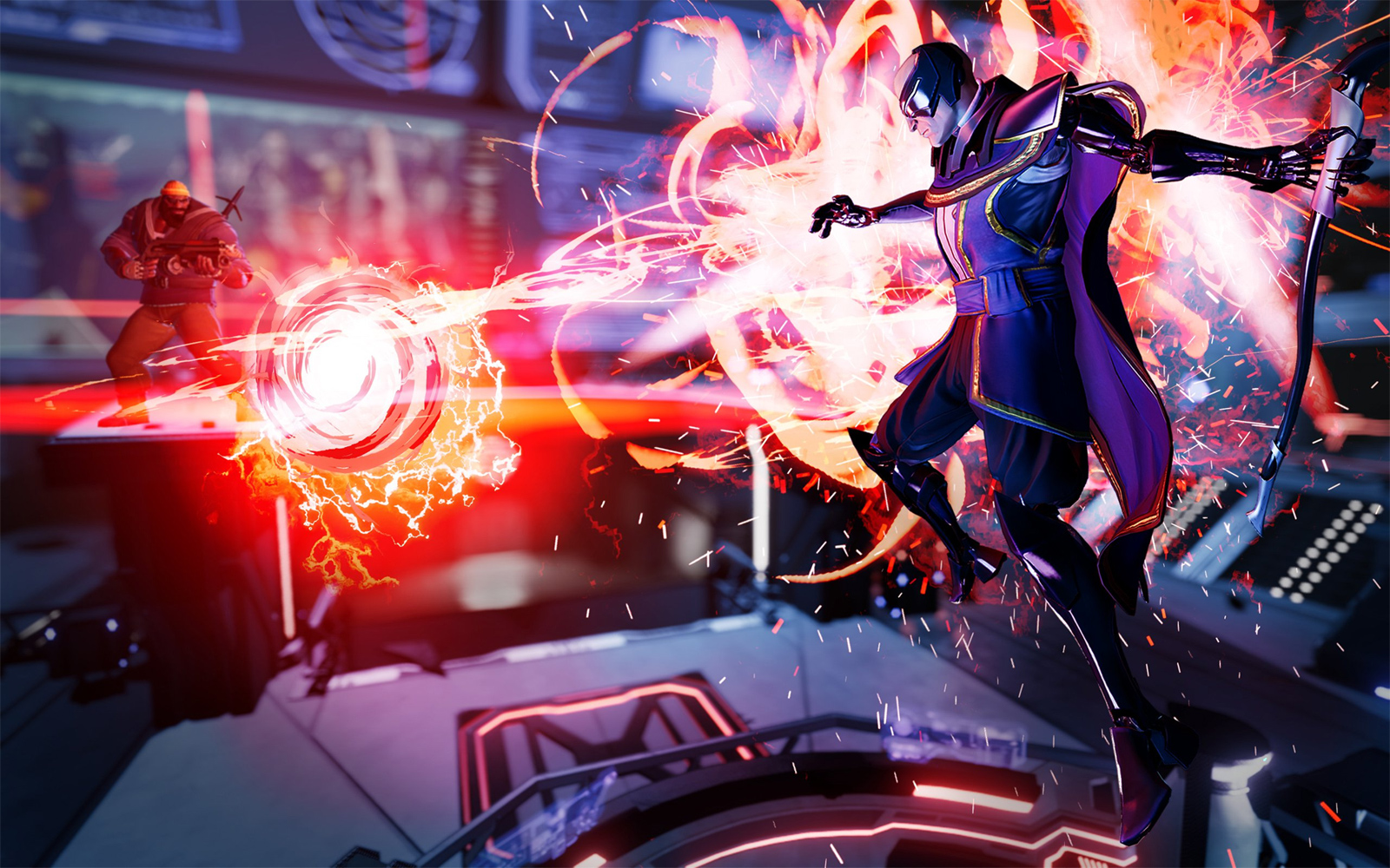 Volition's Agents of Mayhem has a lot of potential screenshot