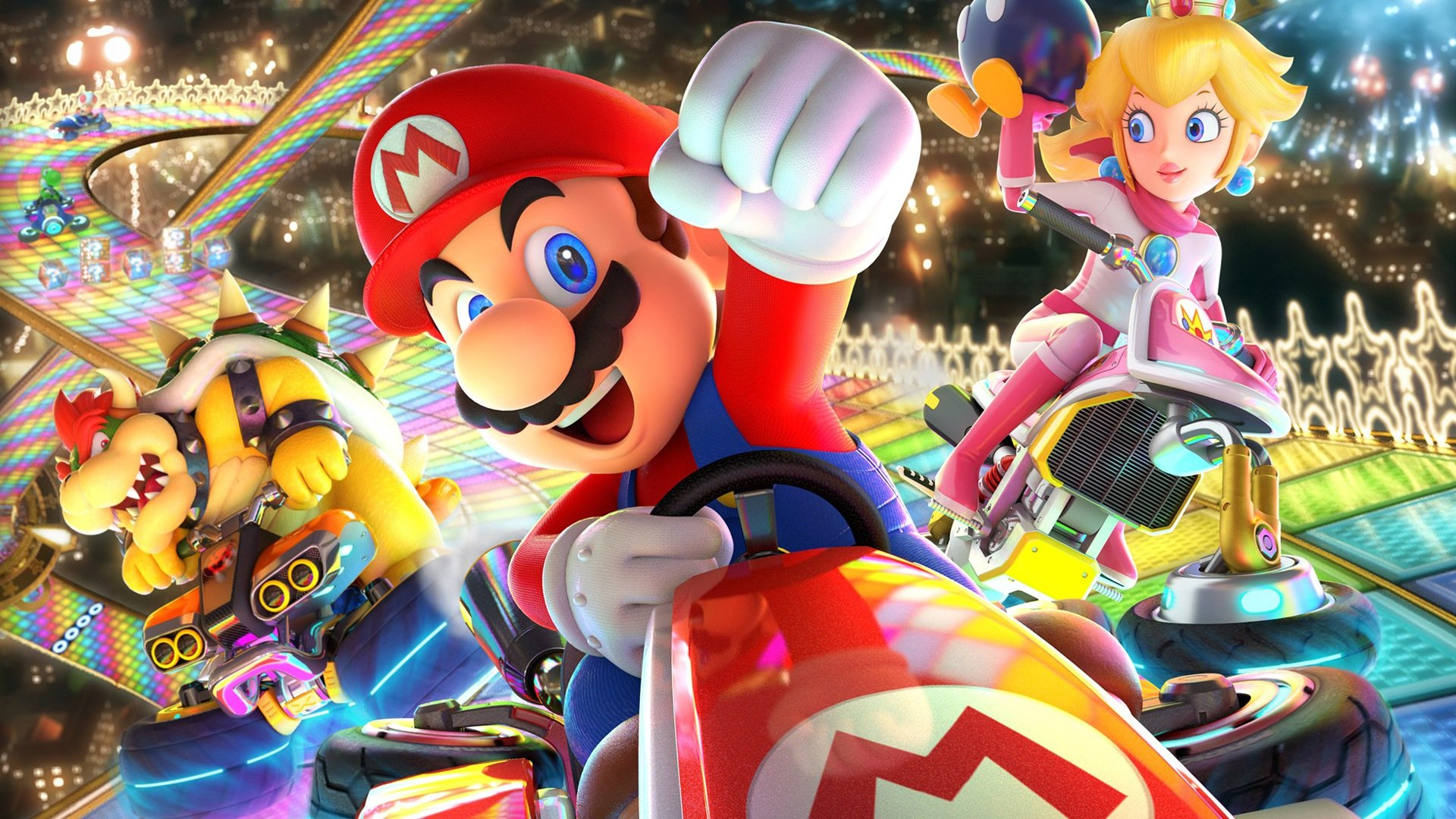 Mario Kart 8 Deluxe bursts on scene, surging Switch sales prior to big holiday screenshot