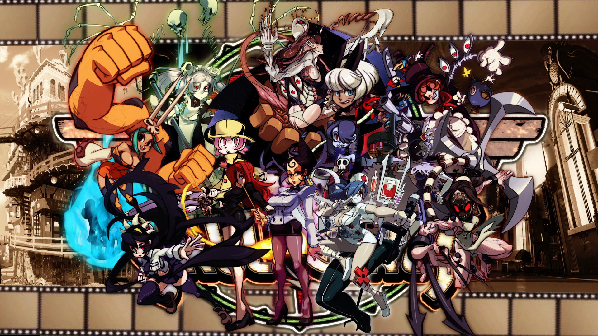 Skullgirls is coming to mobile devices soon screenshot