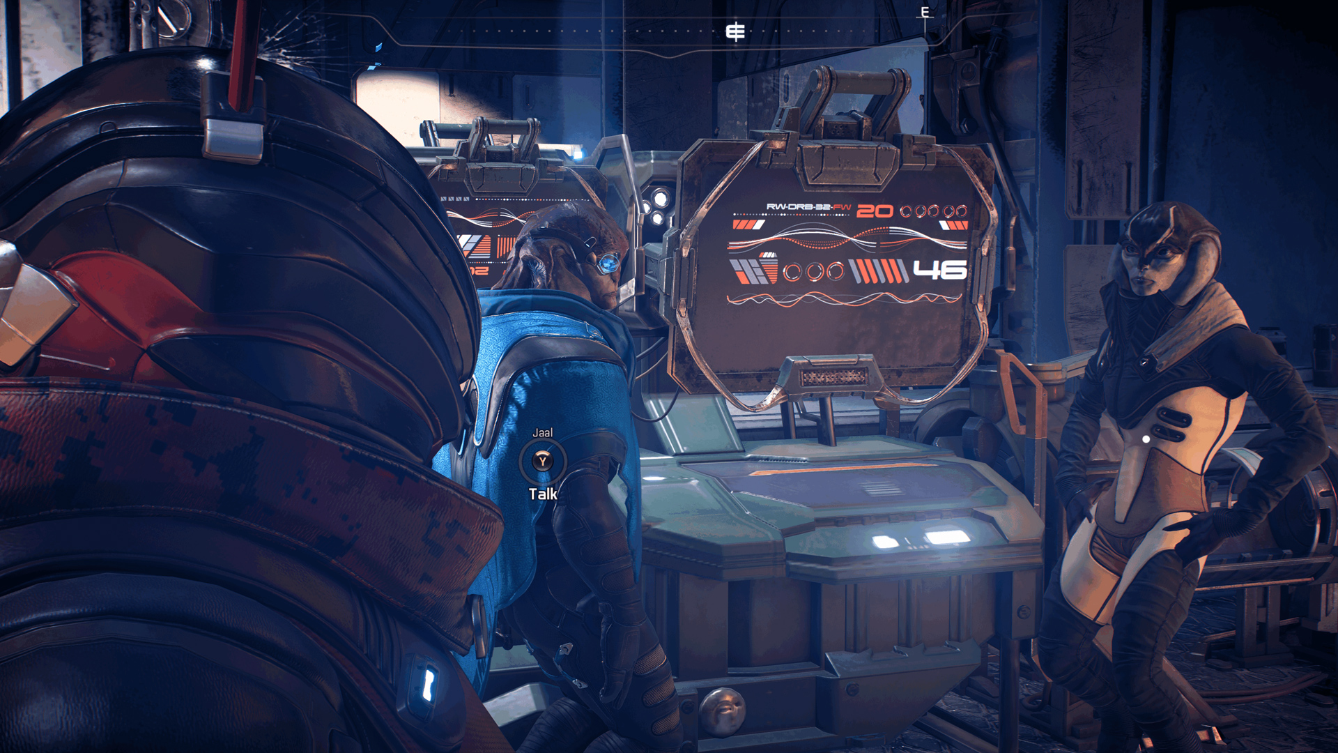 BioWare continues to smooth out Mass Effect: Andromeda screenshot