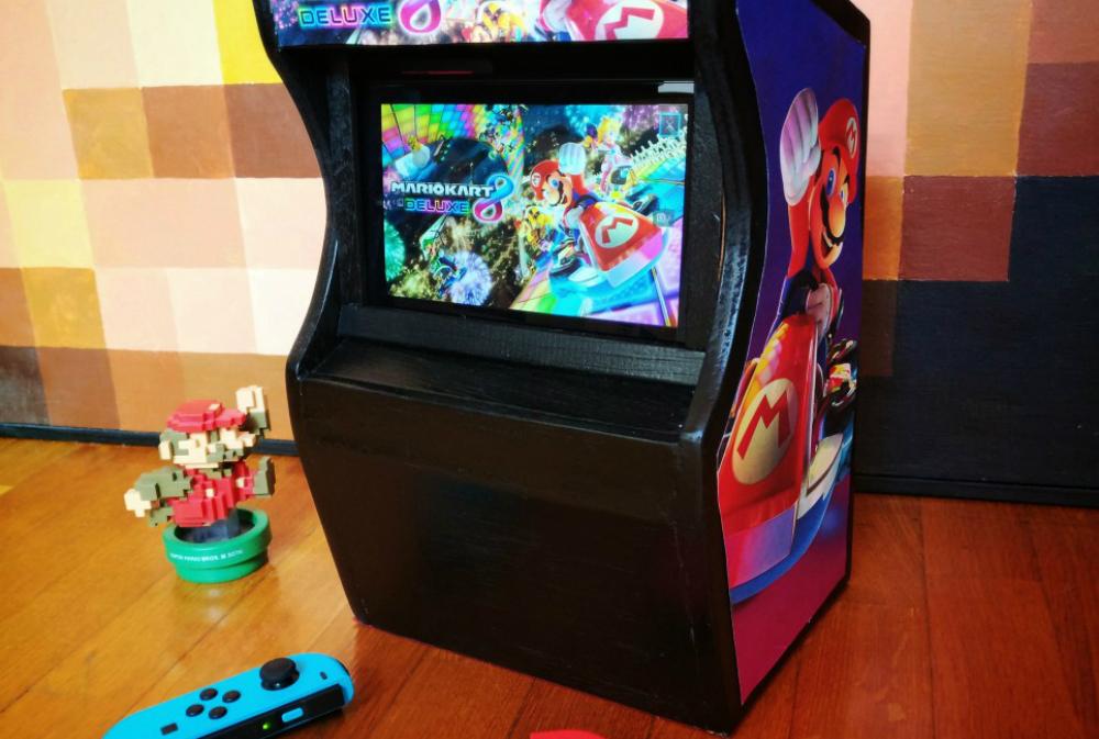 I would rock this Nintendo Switch arcade dock screenshot