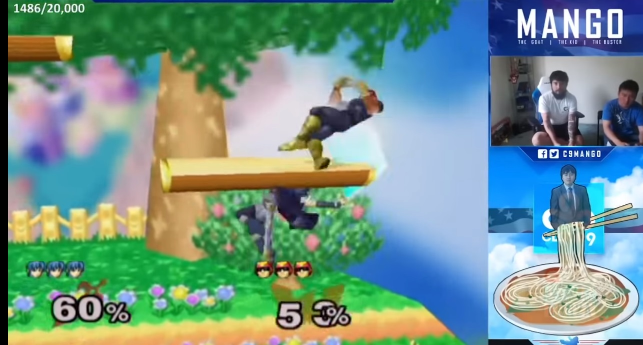 Watch the set of a musician who composes music to competitive Smash Bros. screenshot
