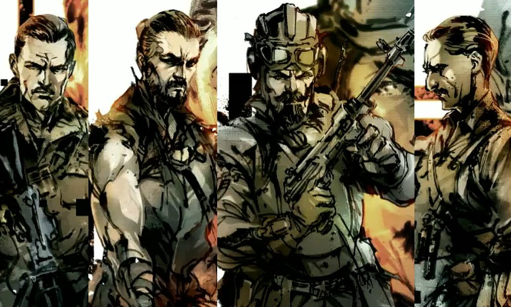 Yoji Shinkawa, legendary Metal Gear artist, lends his talents to Call of Duty screenshot