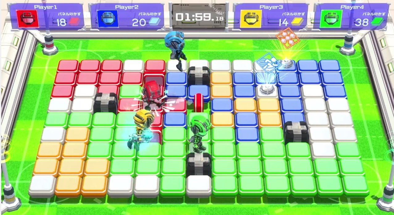 Switch party game Battle Sports Mekuru is out on May 18 in Japan screenshot