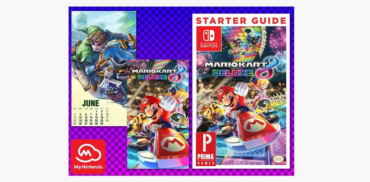 My Nintendo gets a few Mario Kart related rewards screenshot