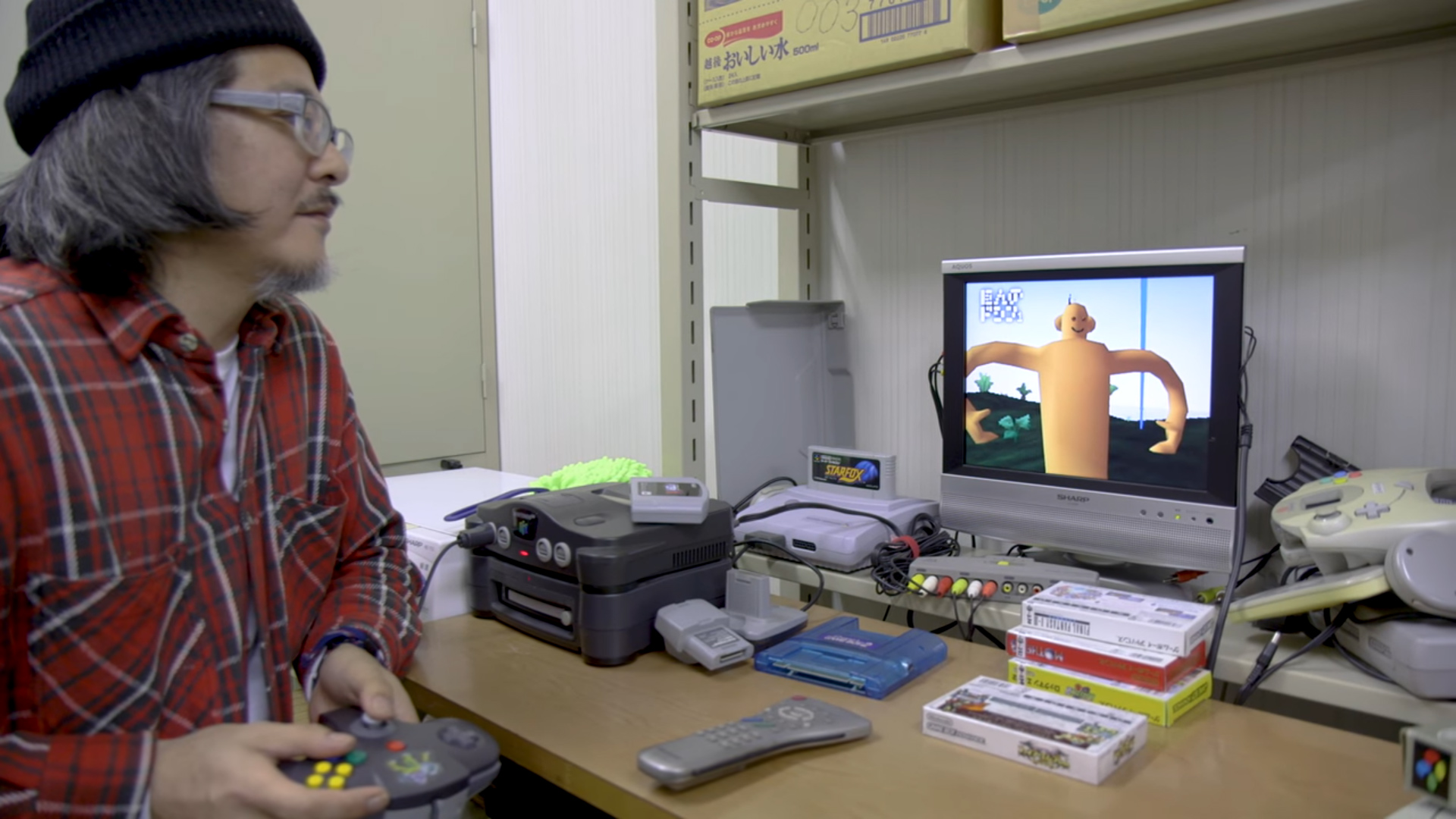 Catching up with Doshin the Giant creator Kazutoshi Iida screenshot