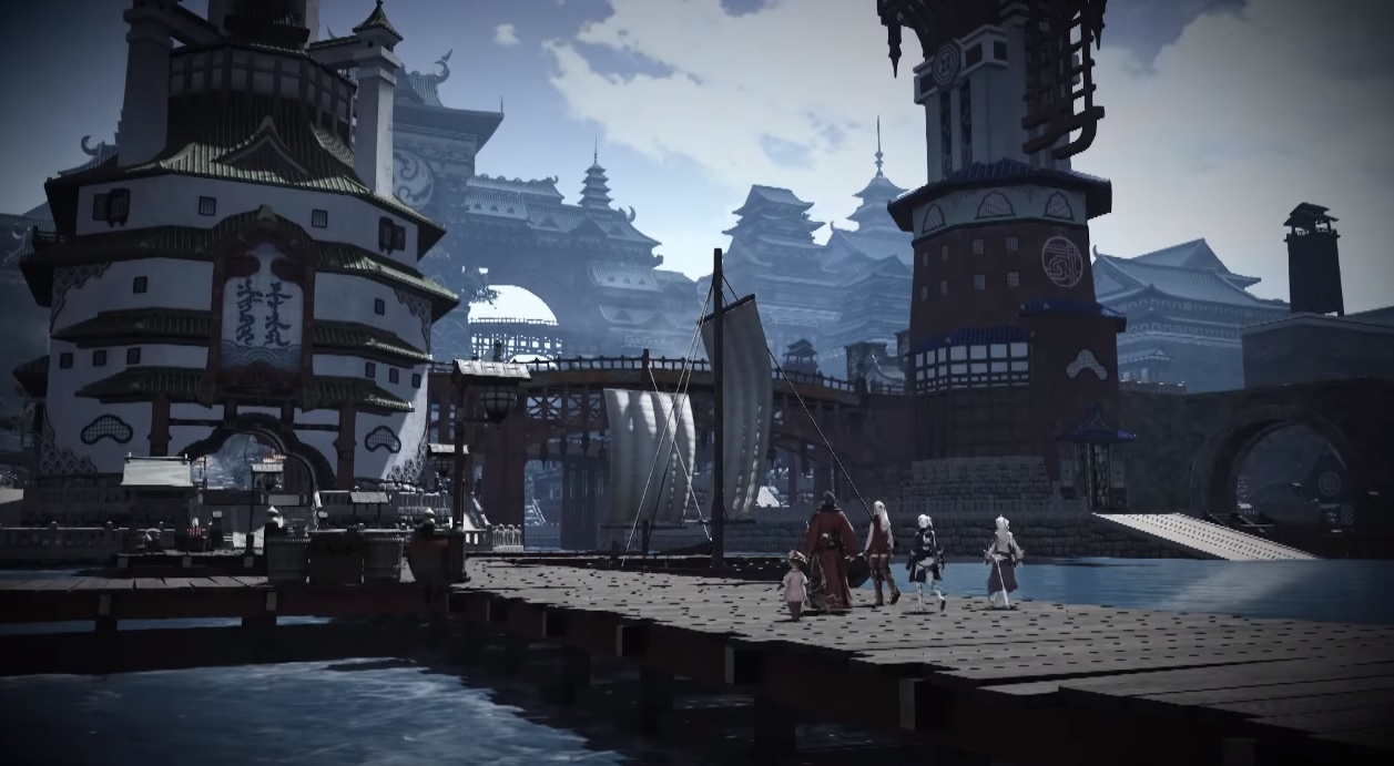 Nobuo Uematsu's new Final Fantasy XIV theme is, as expected, beautiful screenshot
