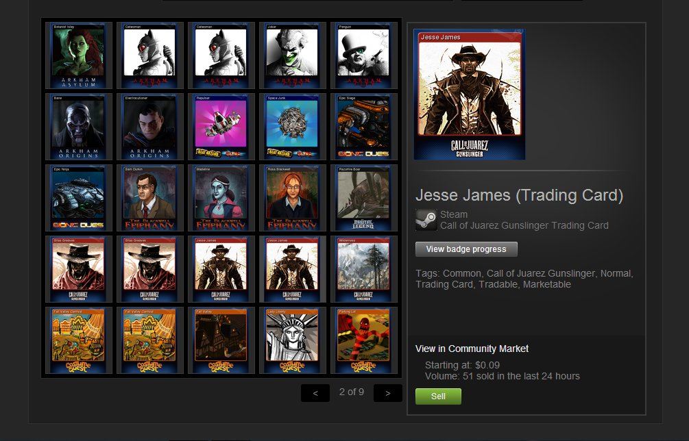 Valve will be overhauling Steam Trading Cards to stop developers from gaming the system screenshot