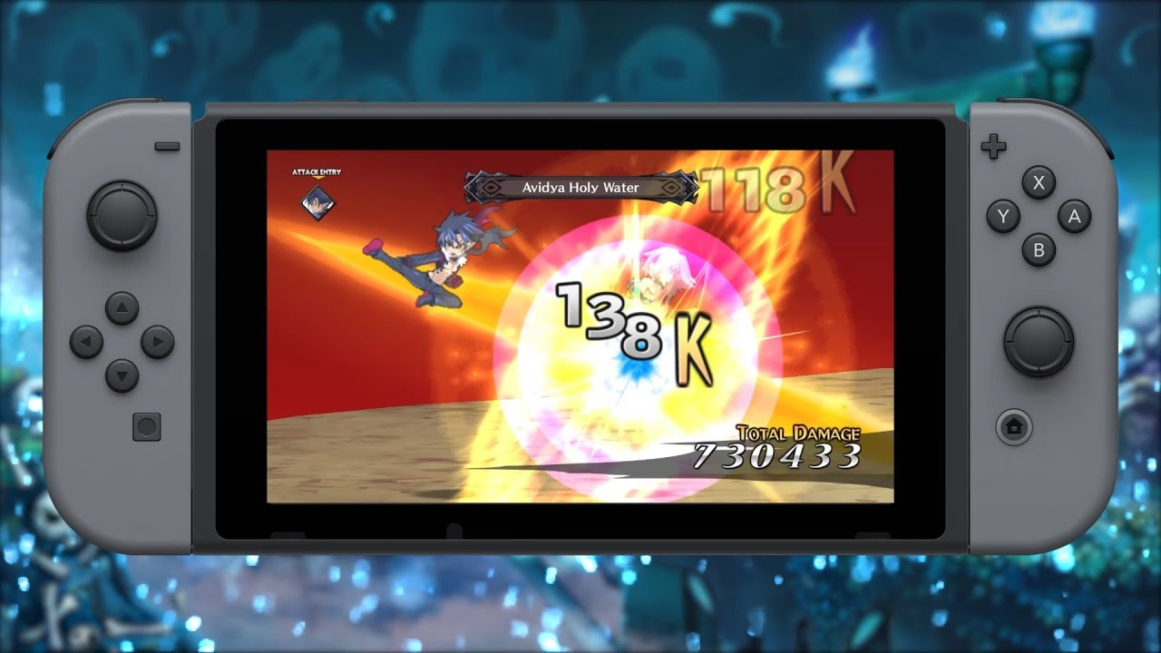 disgaea 5 complete switch size