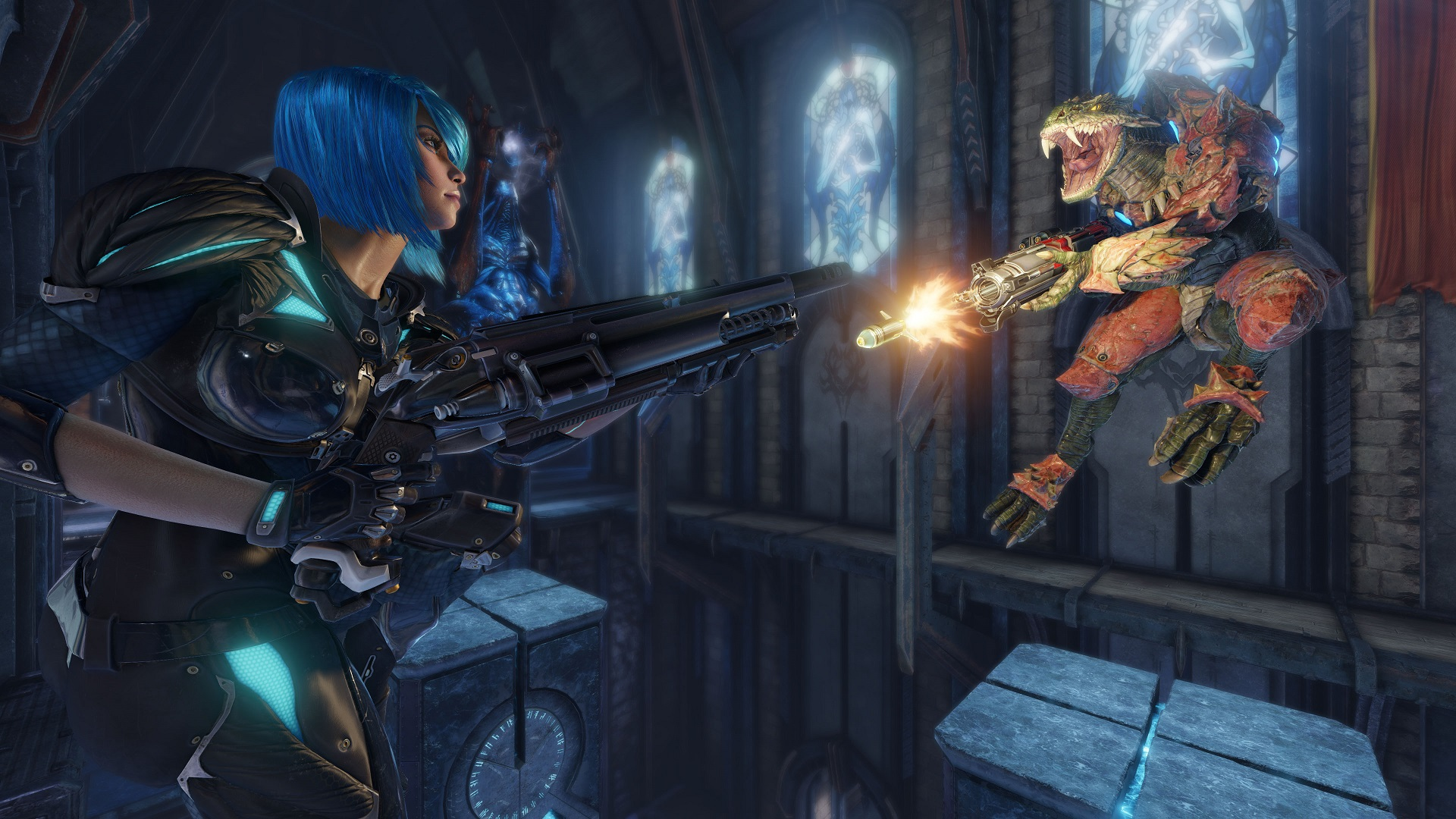 Quake Champions' Duel mode raises questions about its free-to-play model screenshot