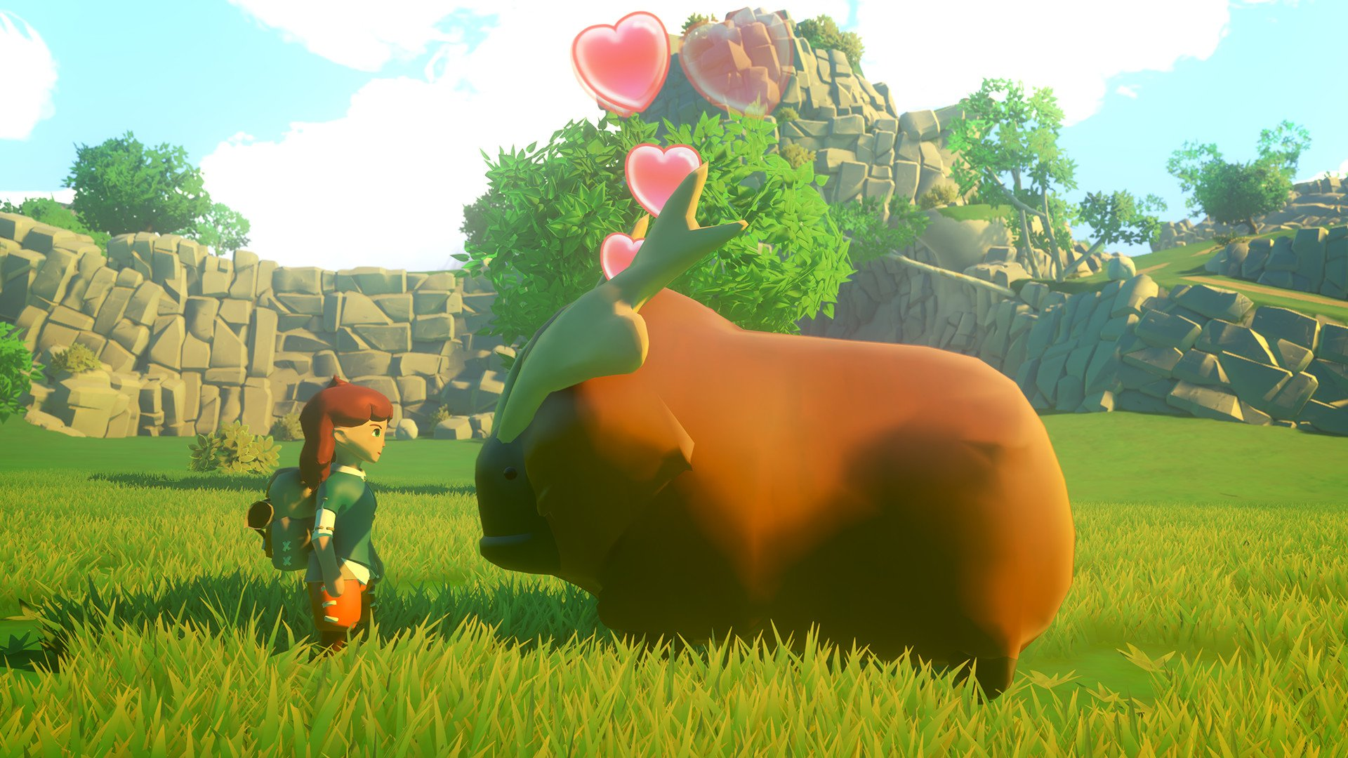 Yonder: The Cloud Catcher Chronicles looks like it's shaping up to be an enjoyably adorable romp screenshot