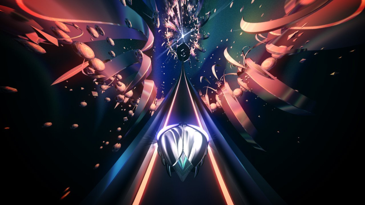 Thumper on Switch wore me out screenshot
