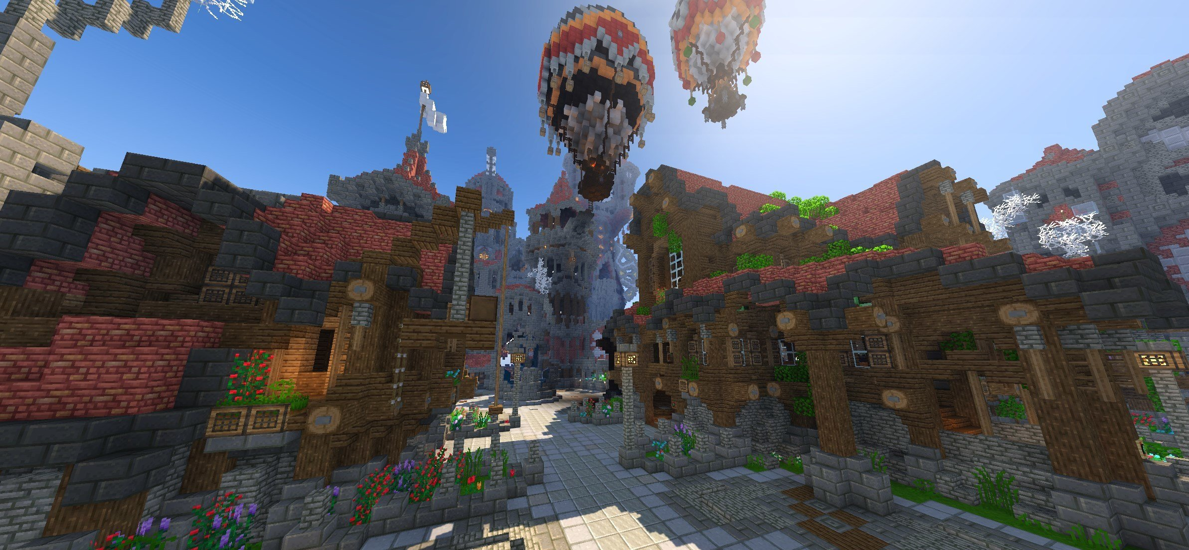 Wynncraft is a full, free fantasy MMO built within Minecraft photo