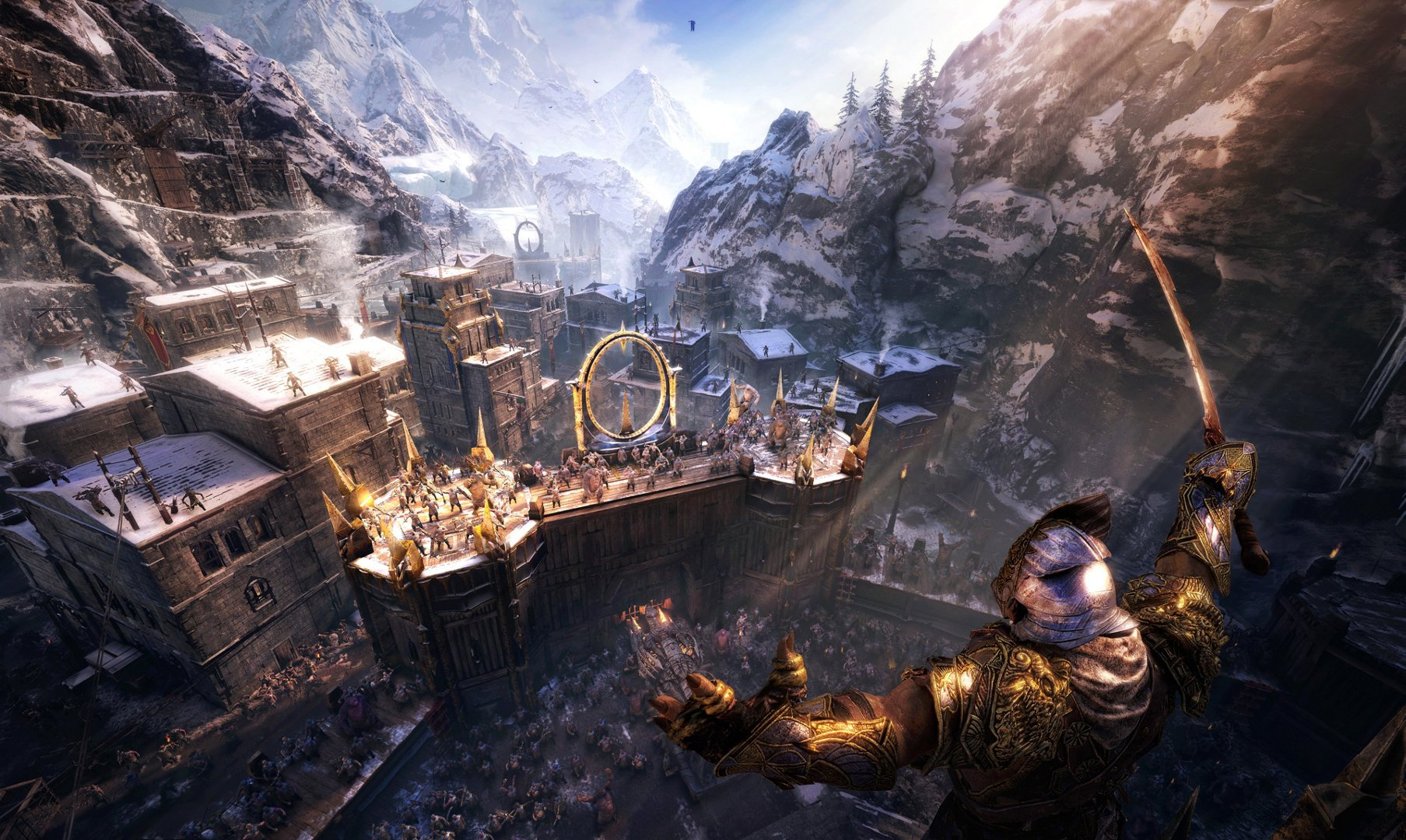 Middle-Earth: Shadow of War will get Scorpio and PS4 Pro support, but no Switch version screenshot