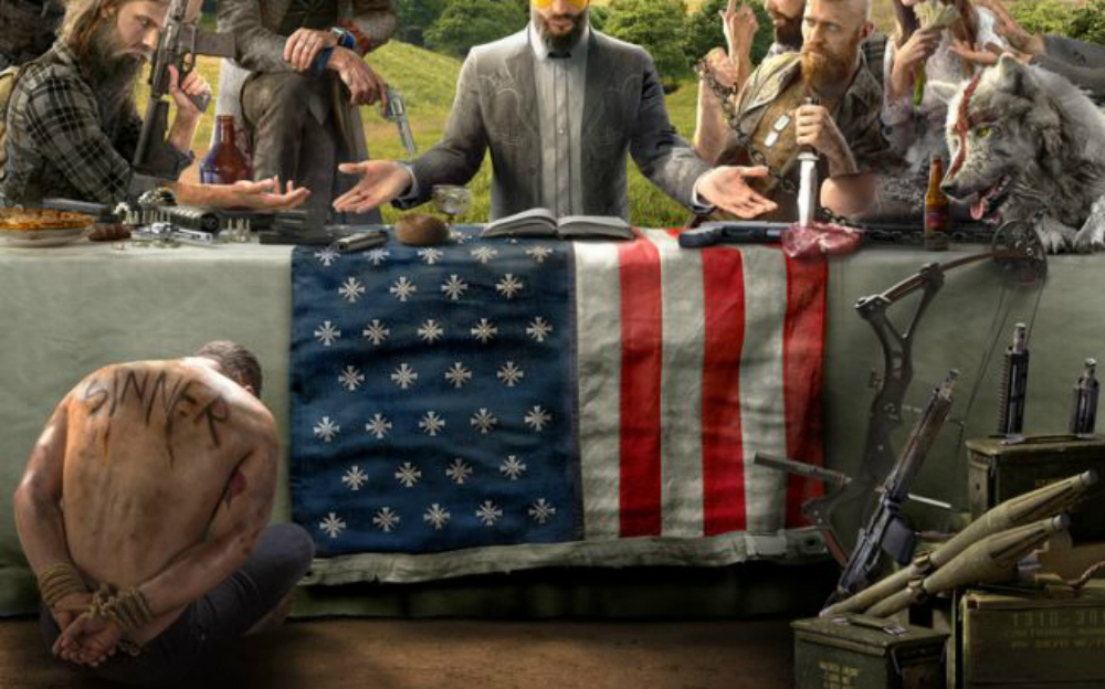 Once again, the protagonist can't catch a break in Far Cry 5 screenshot