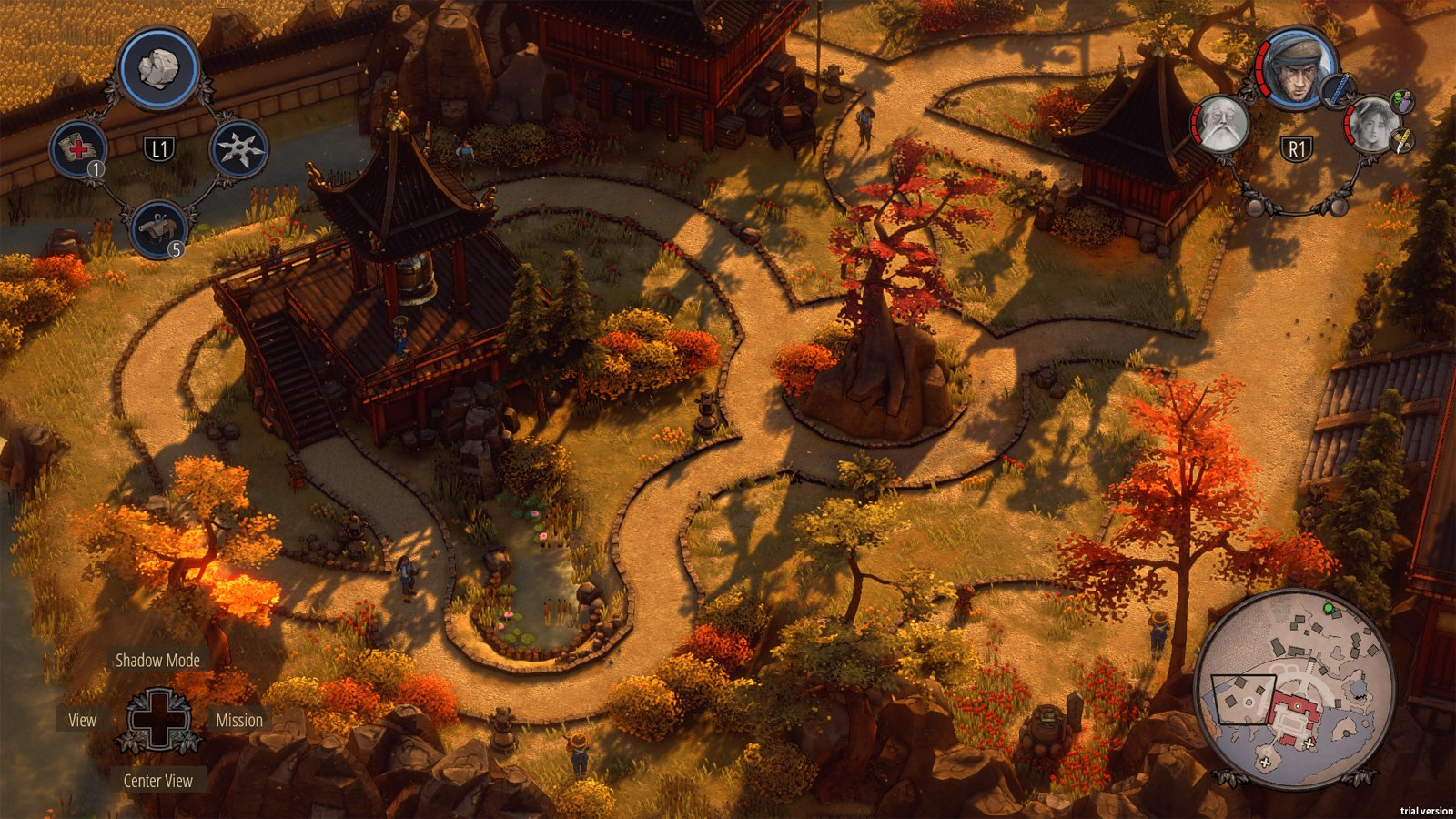 Shadow Tactics on consoles is a nice surprise screenshot