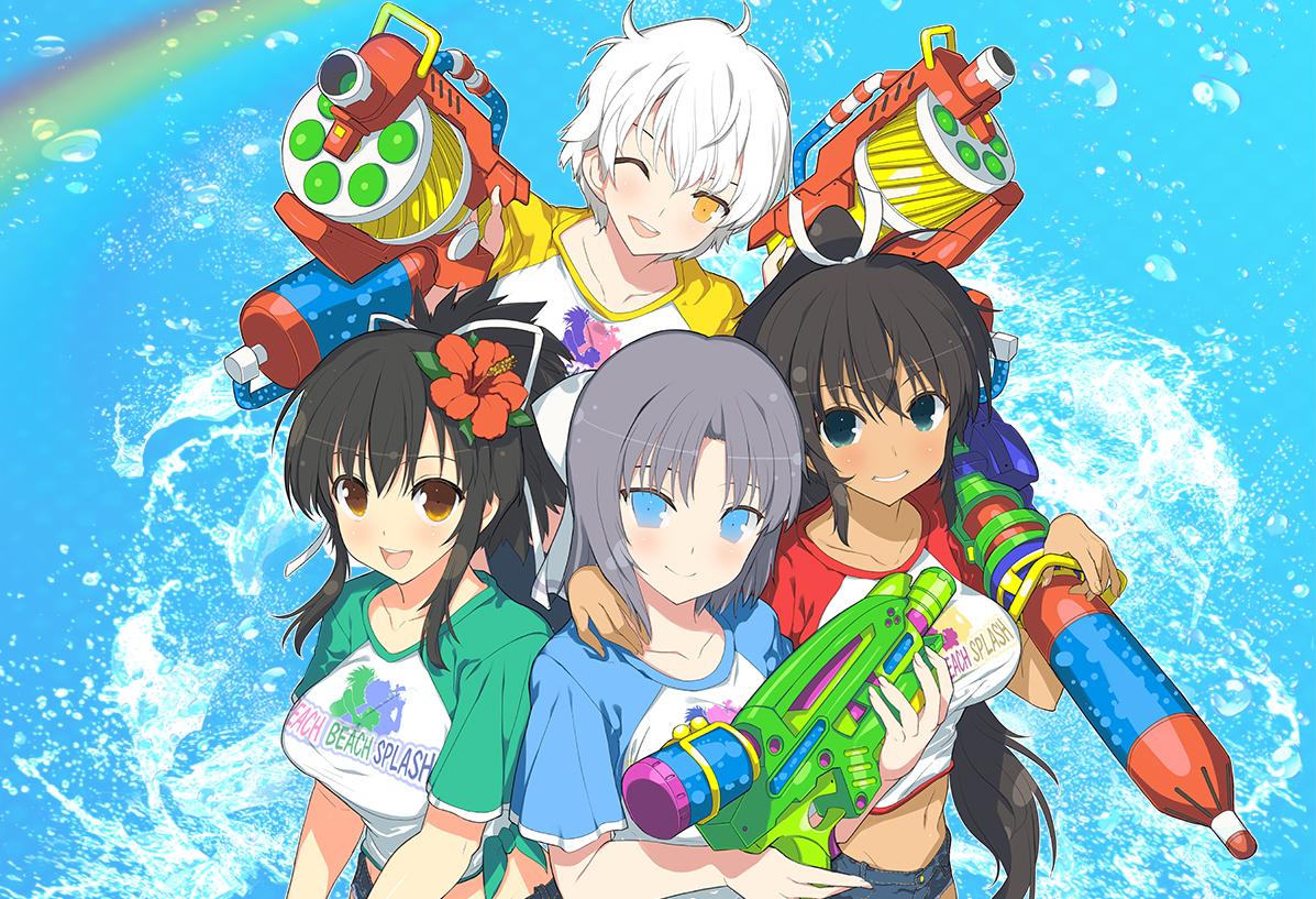 Senran Kagura: Peach Beach Splash receives limited edition in North America screenshot