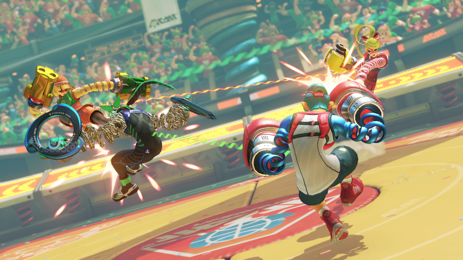 The Global Testpunch left me feeling optimistic about Arms screenshot