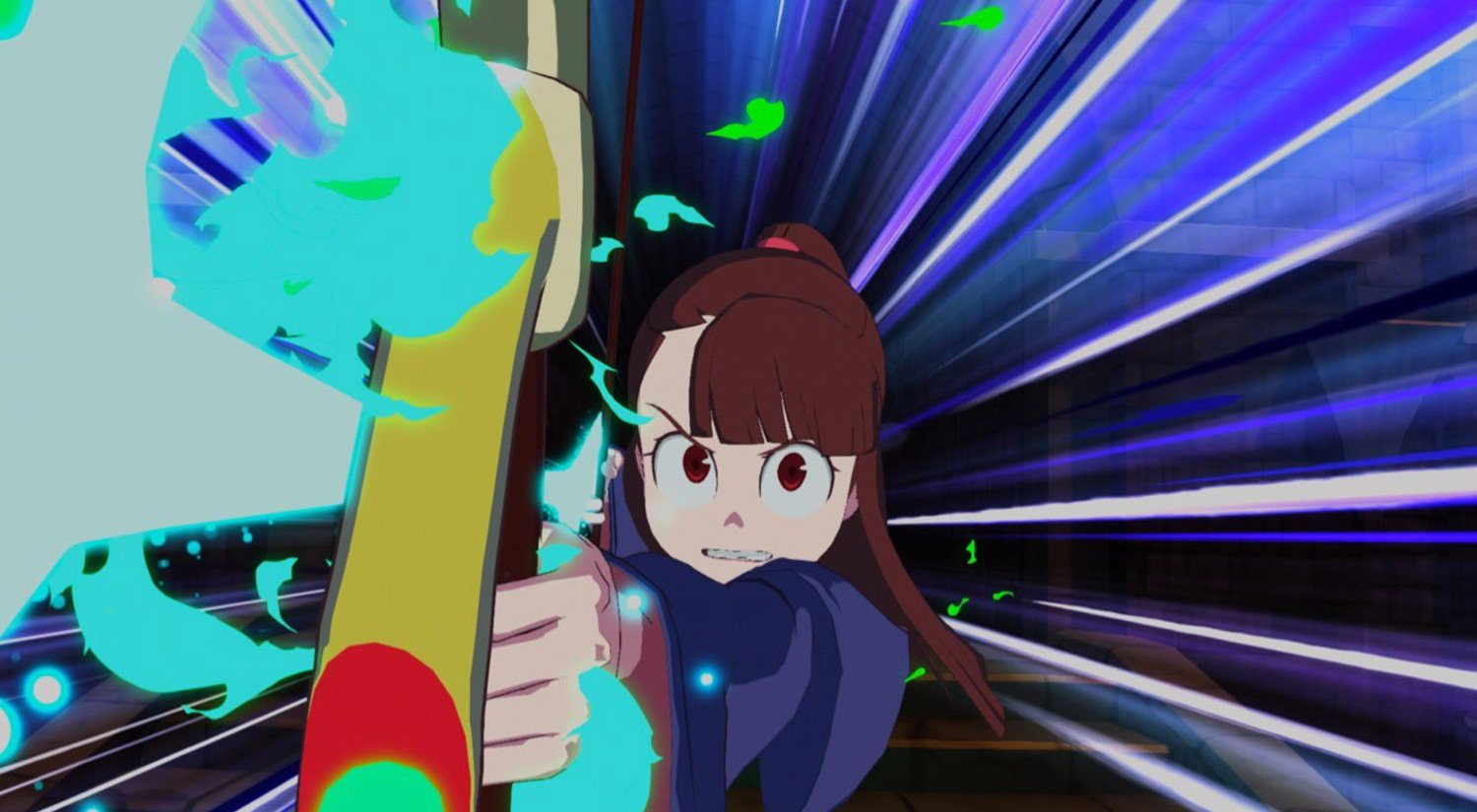 Little Witch Academia game coming to the PS4 screenshot