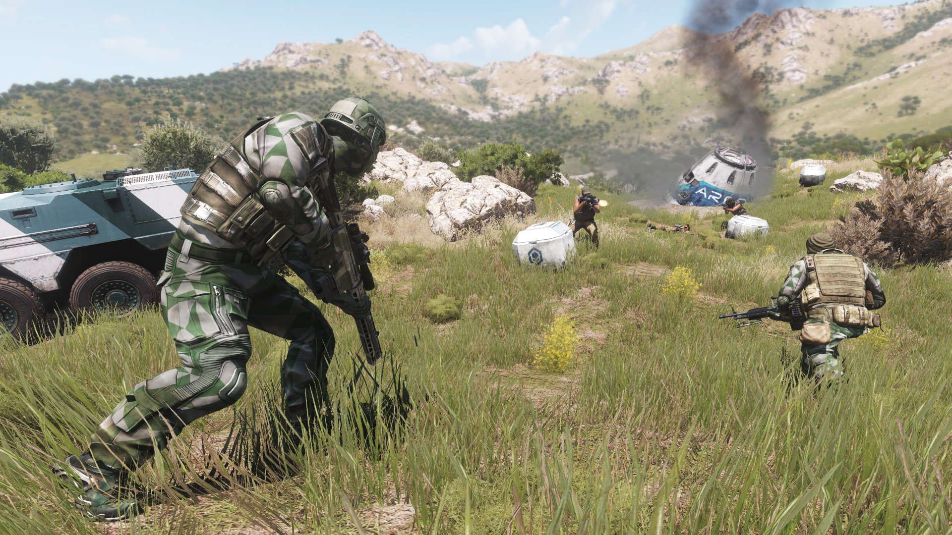 Bohemia's new tactical shooter Argo launches for free in June screenshot