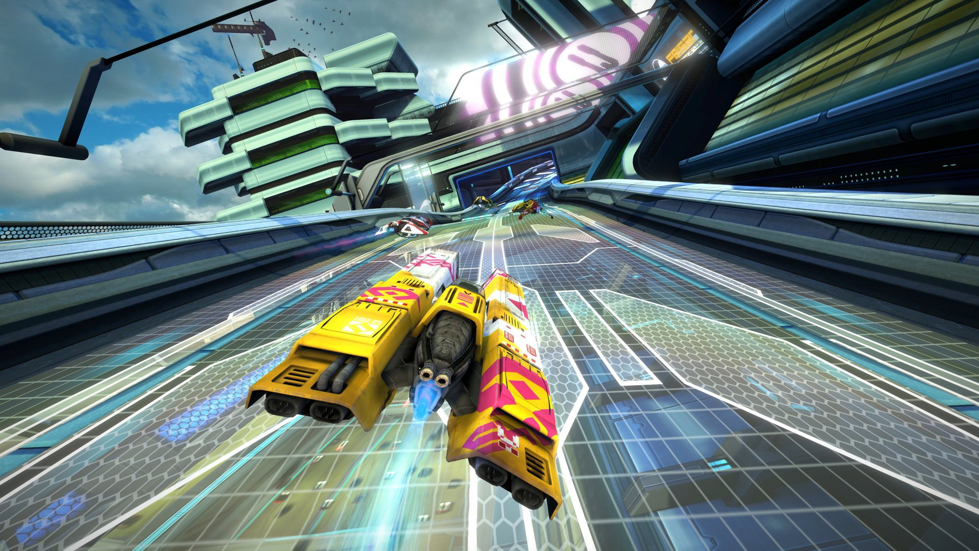Review in Progress: WipEout Omega Collection screenshot