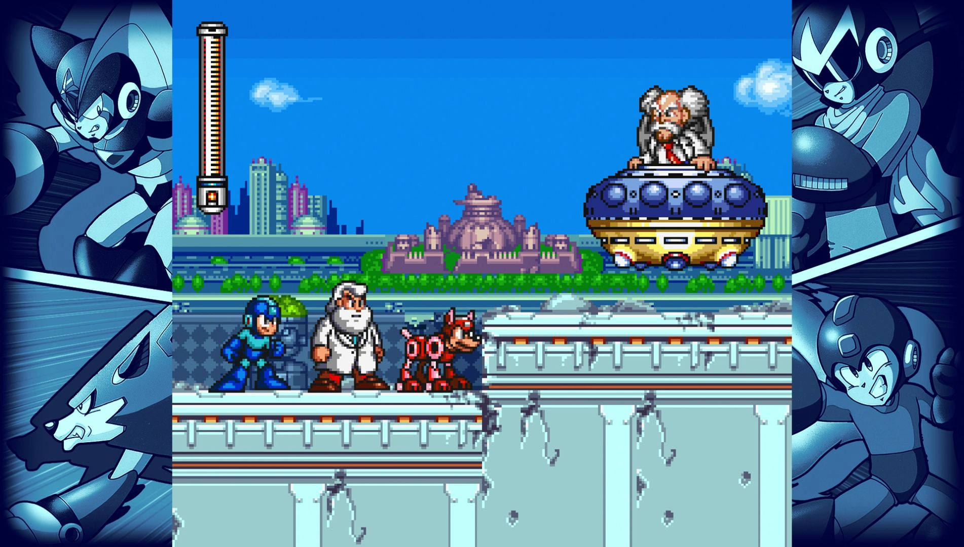 Mega Man Legacy Collection 2 coming this year, sadly without a Switch version screenshot