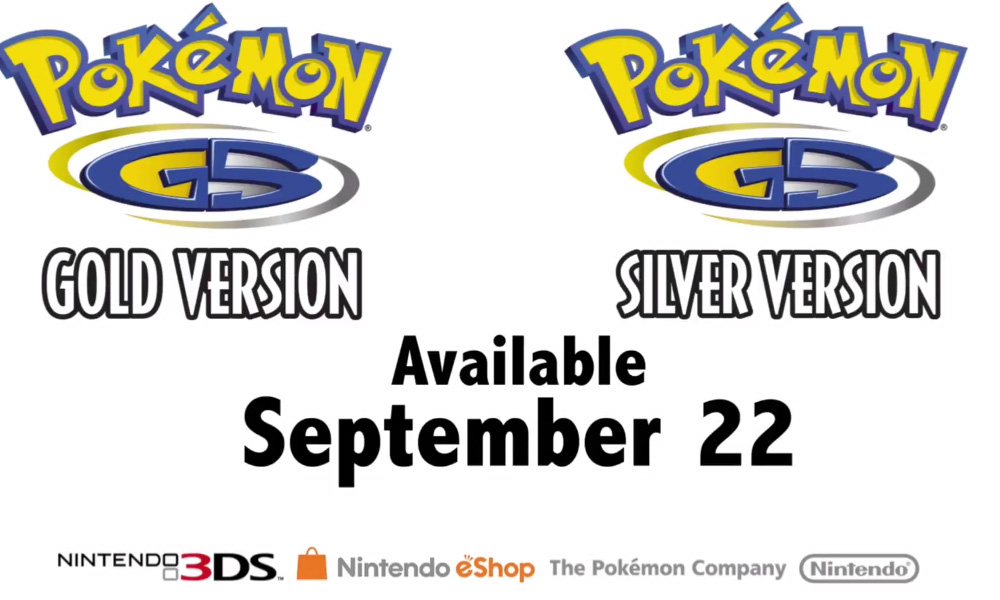 Pokemon Gold and Silver will hit the 3DS Virtual Console this year screenshot