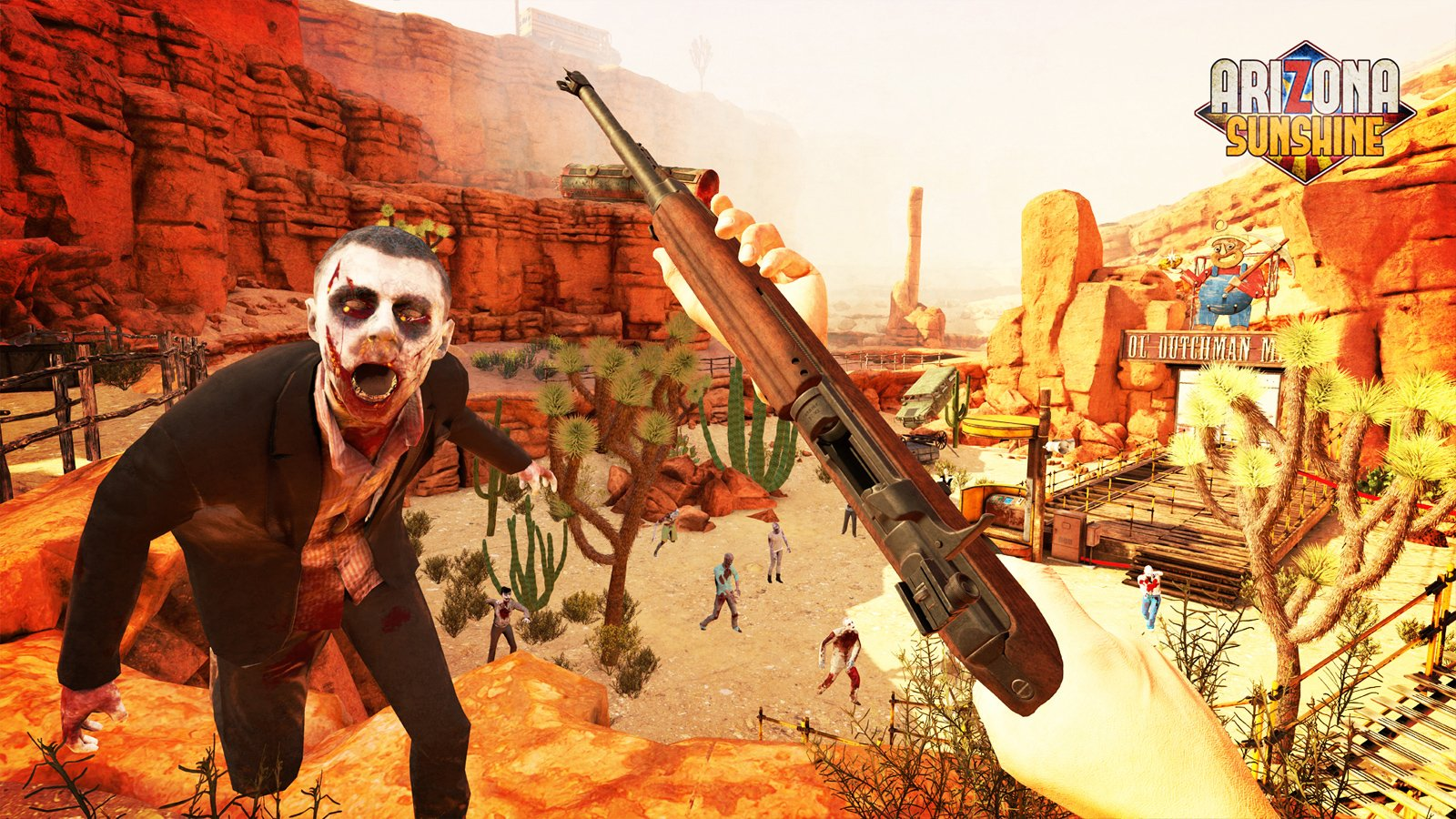 Arizona Sunshine makes good use of the PlayStation VR Aim Controller screenshot