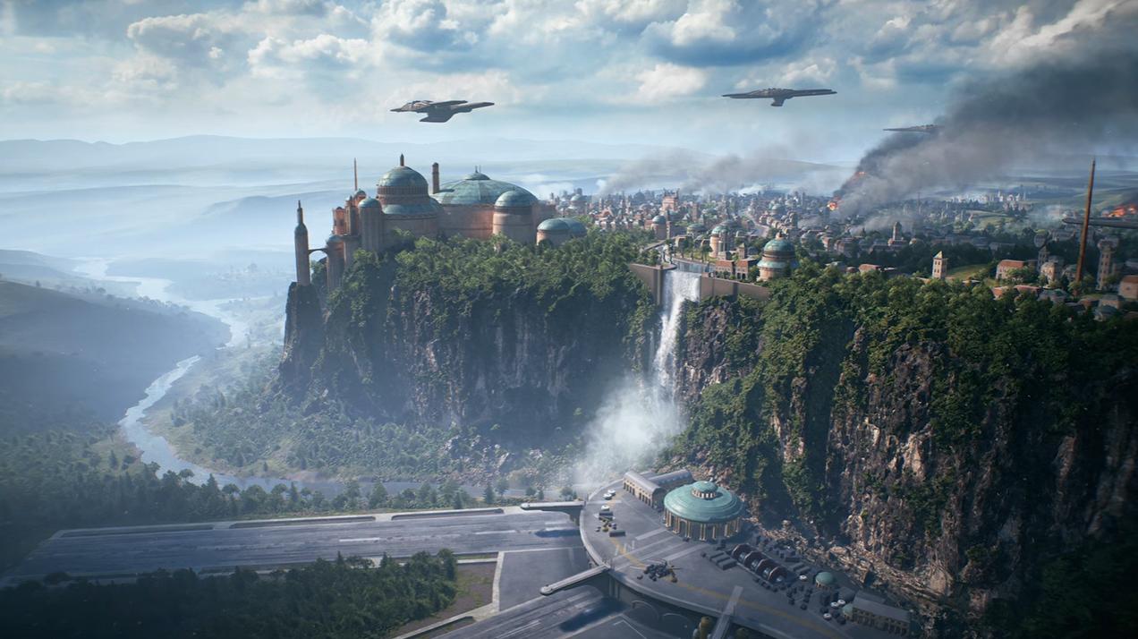 Weesa going to Naboo in Star Wars Battlefront II screenshot
