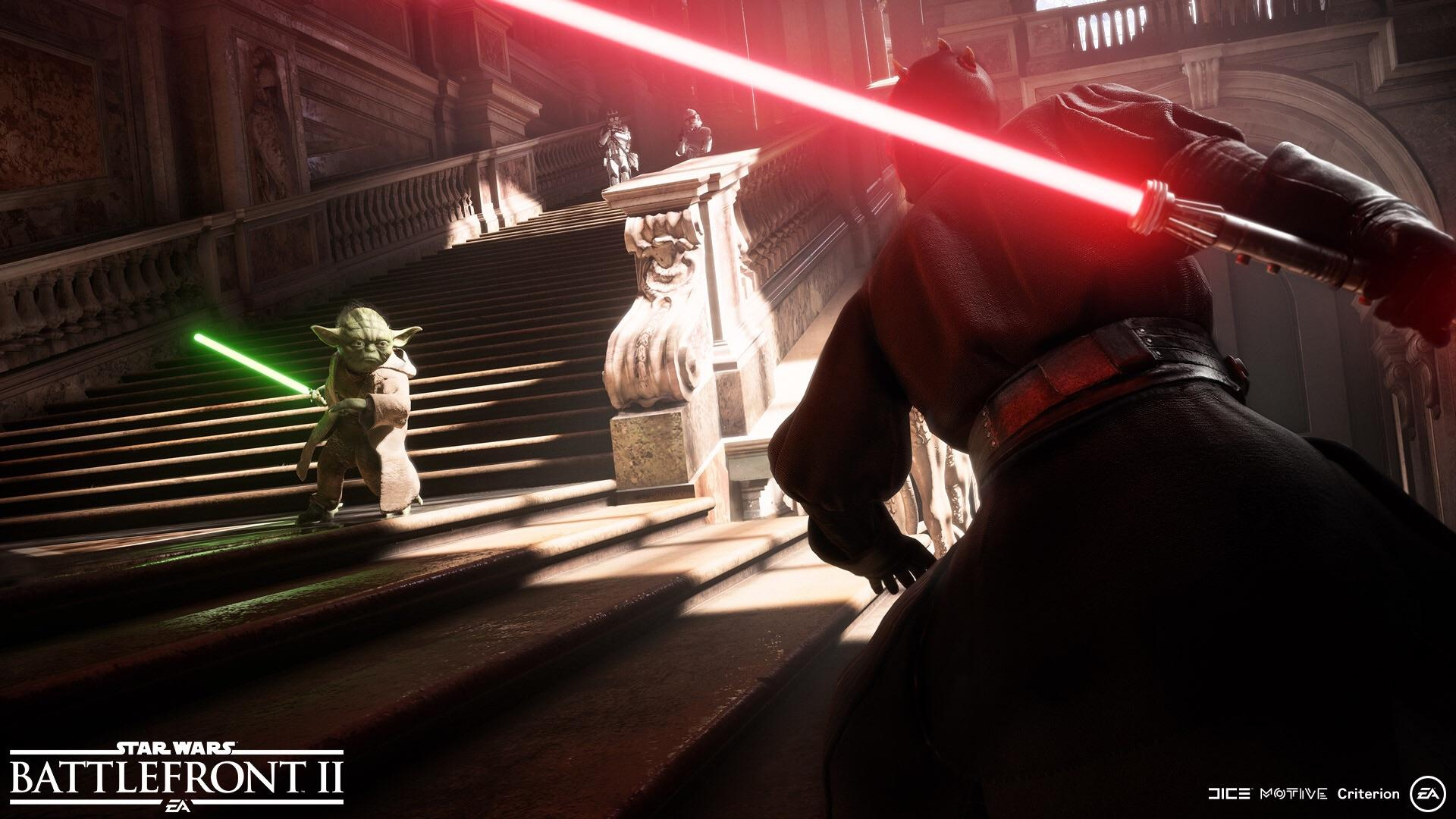 Star Wars Battlefront II will hold its multiplayer beta in the fall screenshot