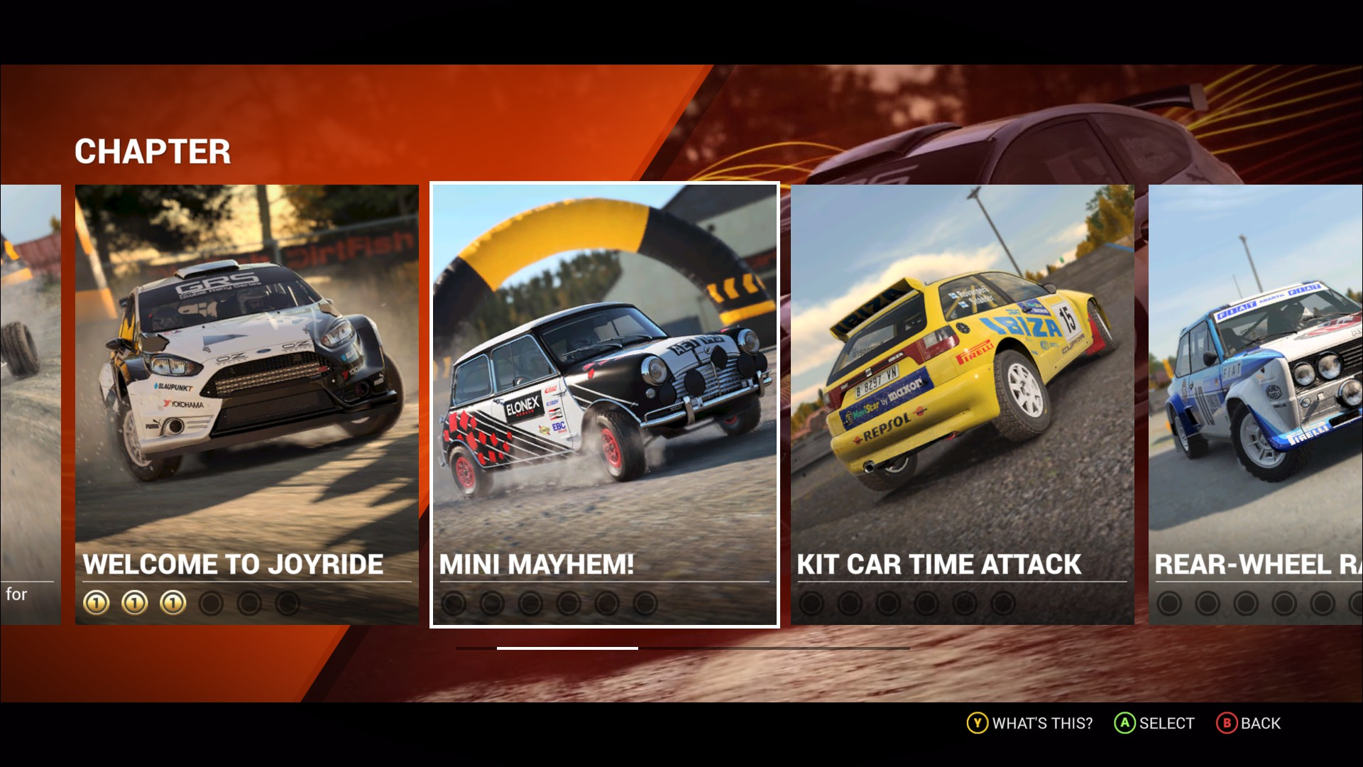 The DiRT Academy Also Has A Joyride Mode And Set Of Time Trial Options You Can Complete Along With Trials Comes Smash Attack An Option That