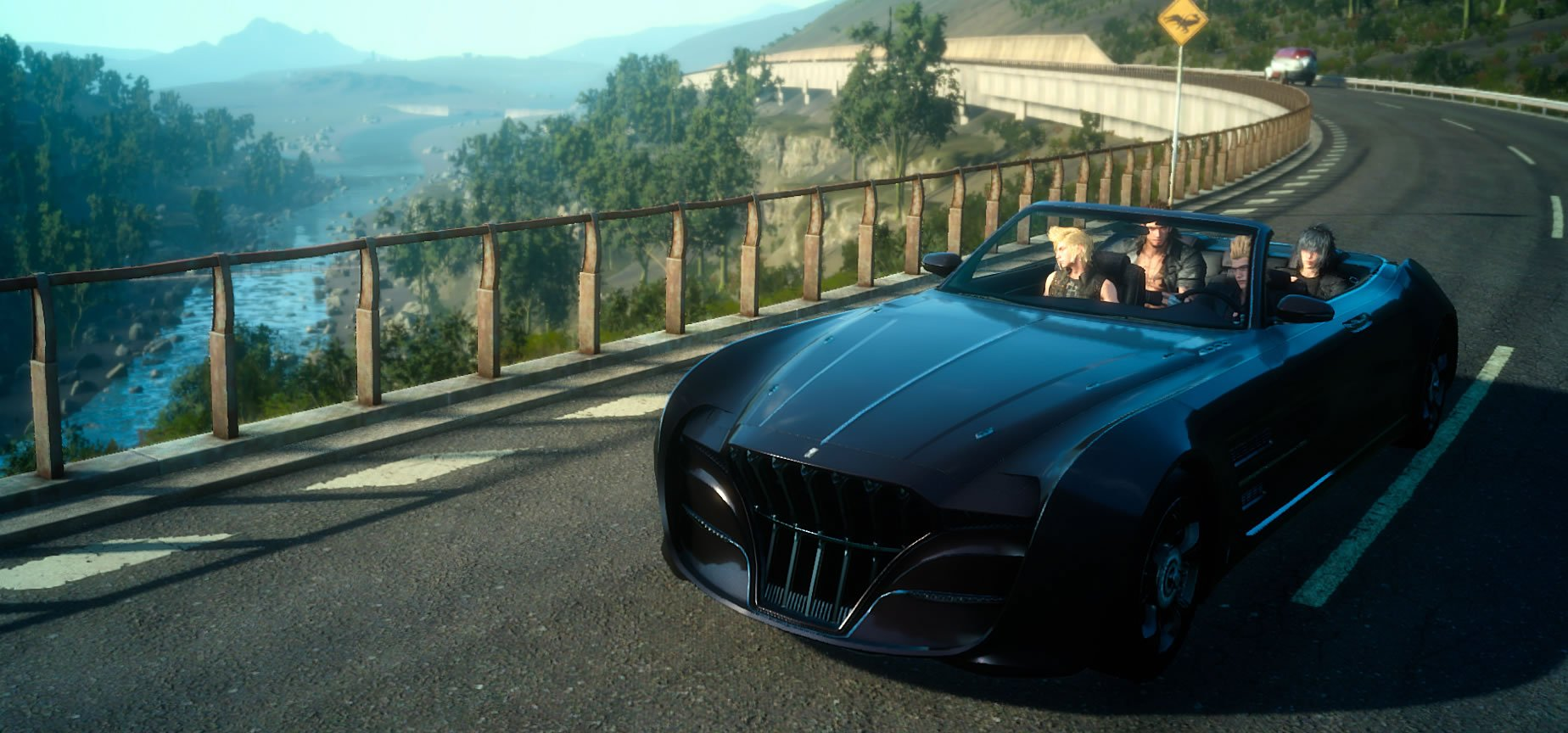 Final Fantasy XV's off-road Regalia and Episode Prompto out by the end of June screenshot