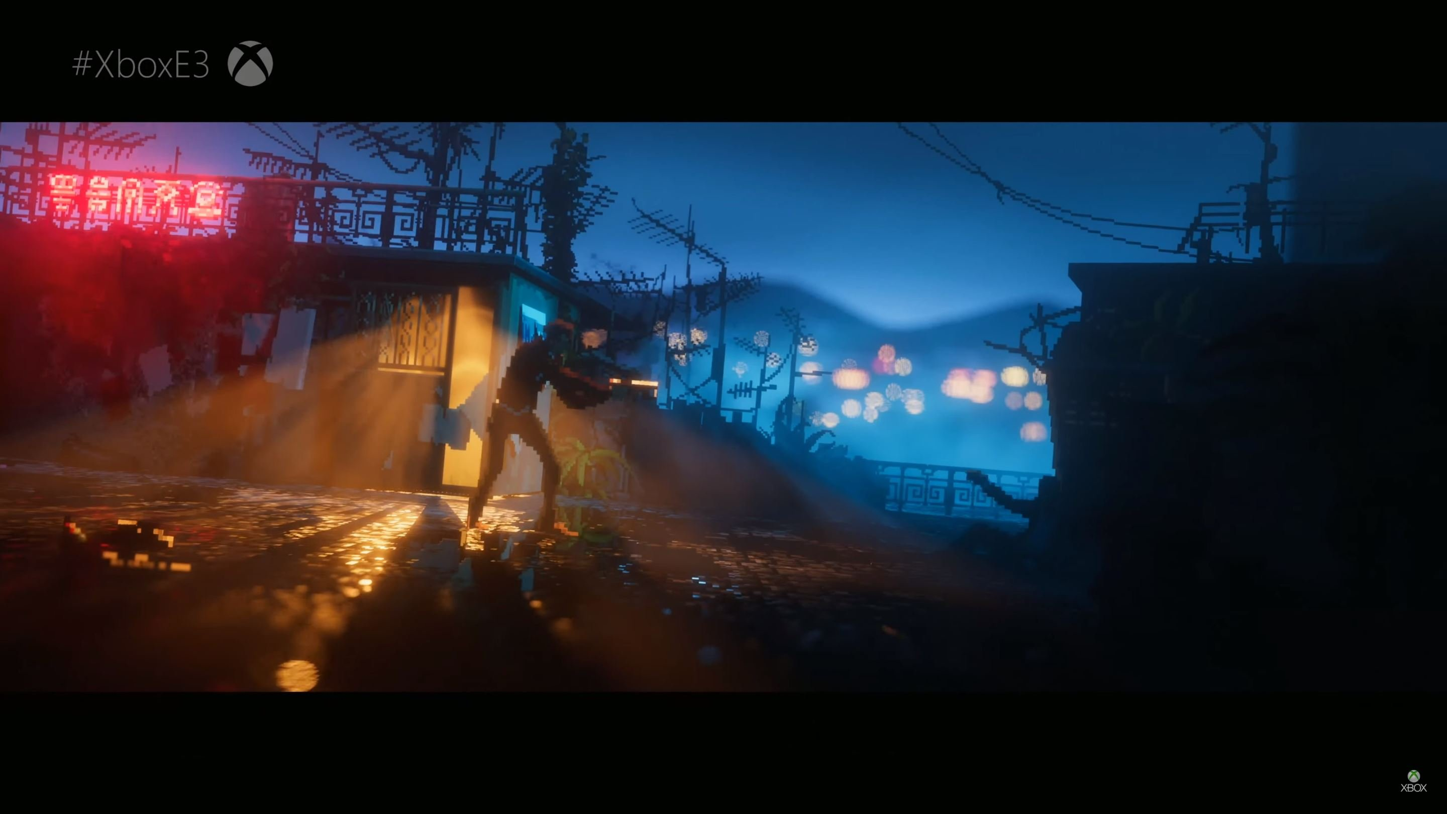 Absolutely stunning The Last Night is an Xbox One console exclusive screenshot