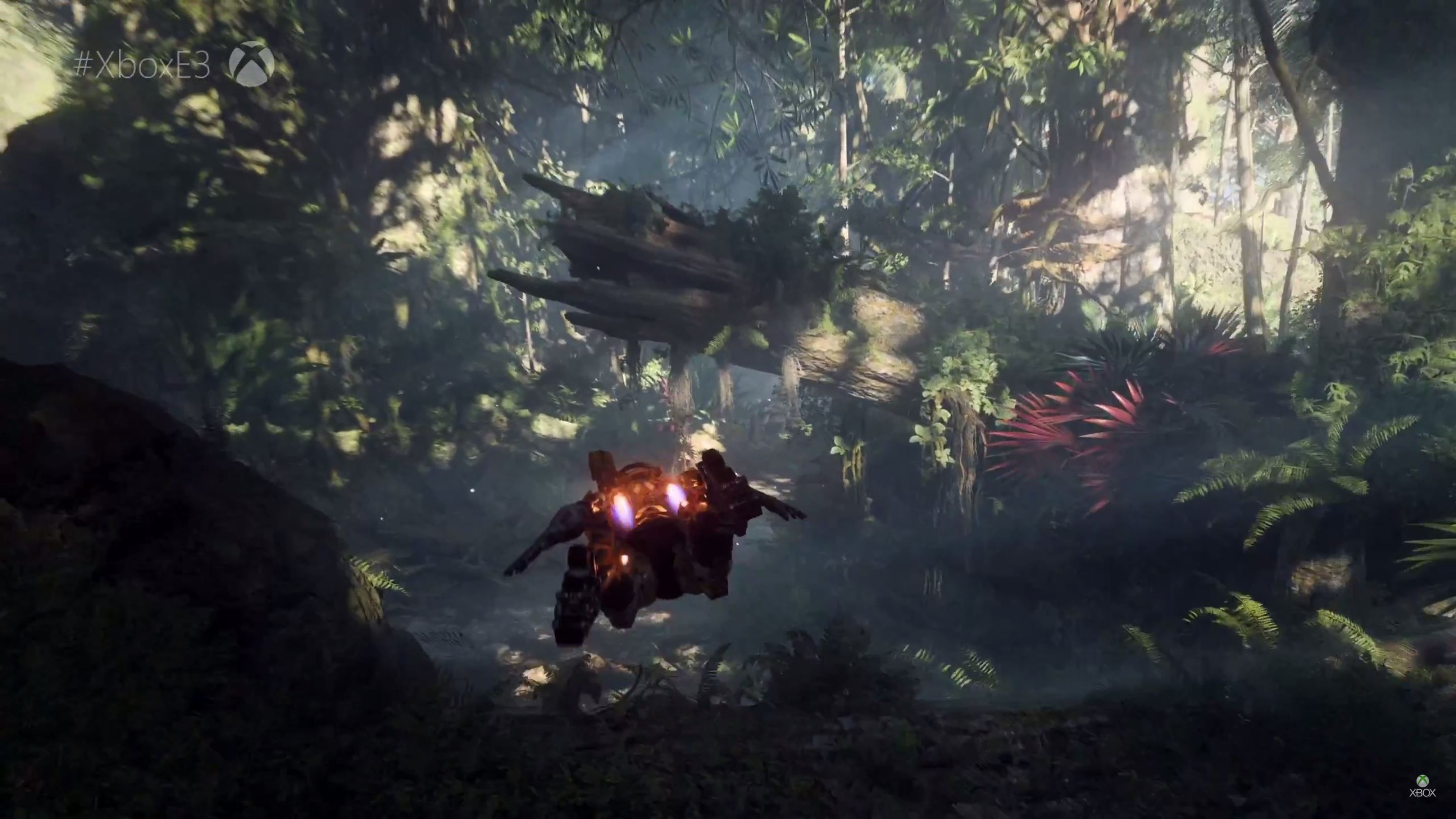 Here's some in-engine gameplay from BioWare's new IP Anthem screenshot