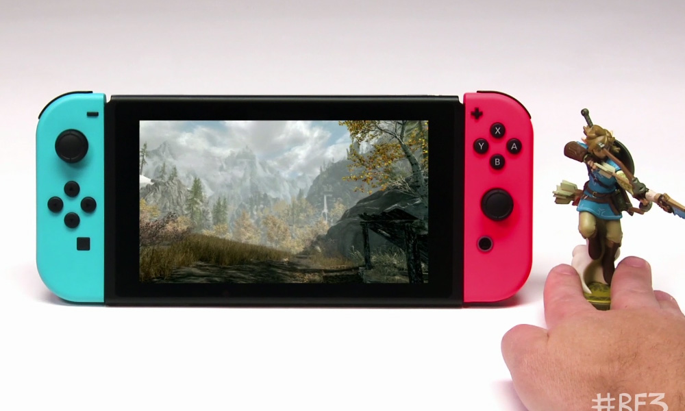 Skyrim on Switch gets amiibo support, trailer shows off Link screenshot