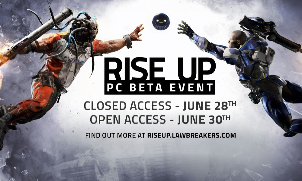 Lawbreakers is back with more betas this month, out in August on PC and PS4 screenshot