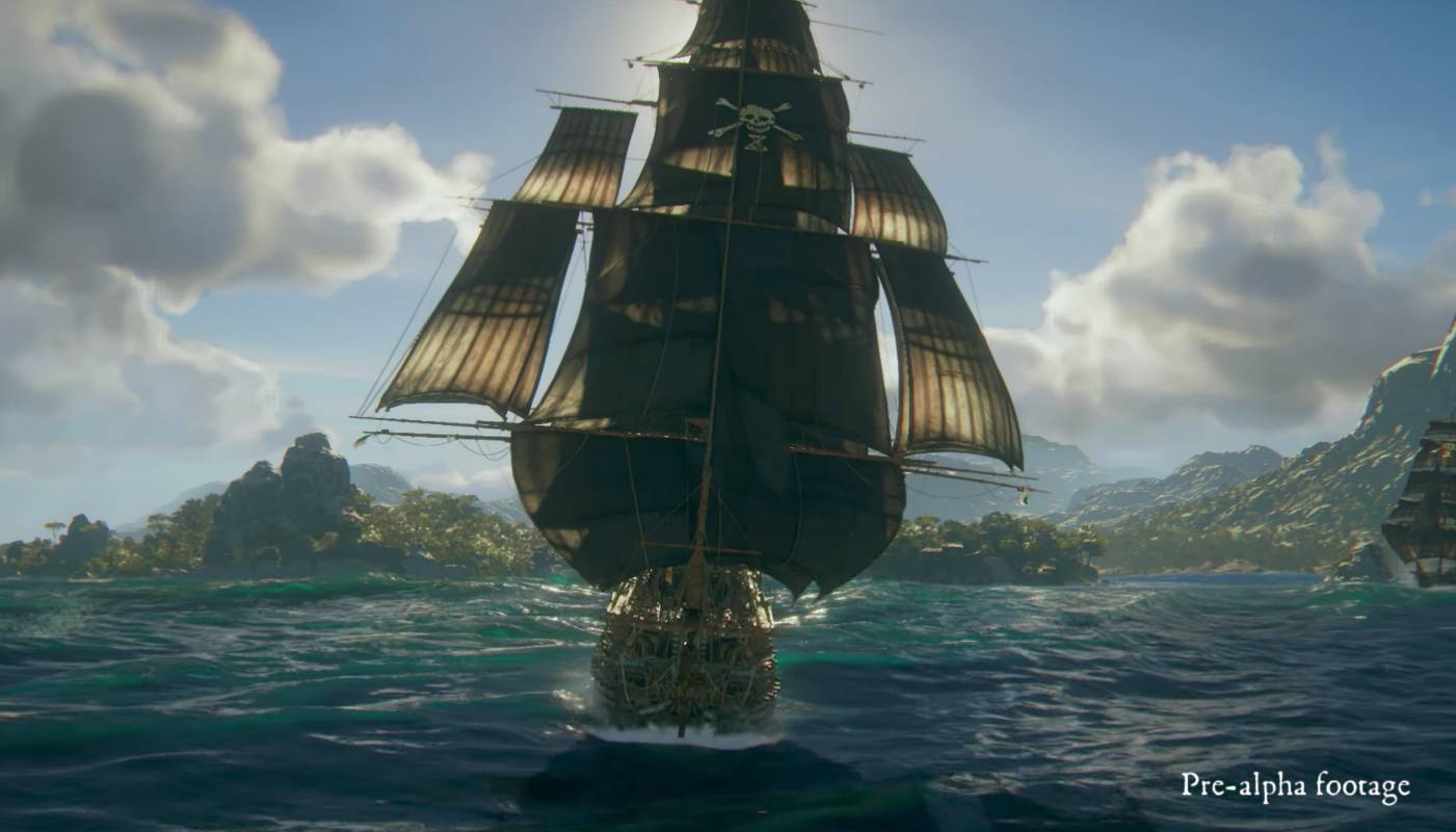 Skull and Bones is a tactical action pirate game from Ubisoft screenshot
