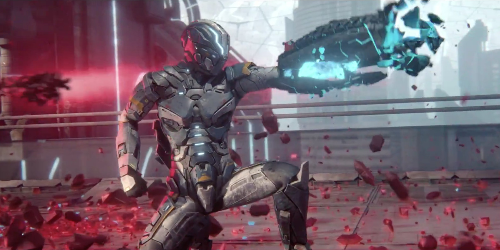 Housemarque's upcoming shooter Matterfall is coming out this August for the PS4 screenshot