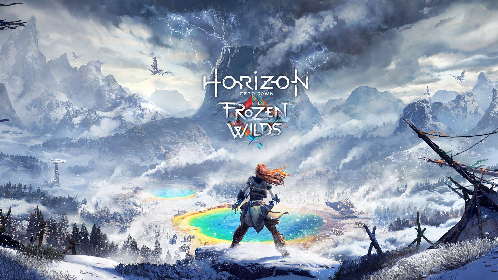 Horizon Zero Dawn's story expansion is The Frozen Wilds screenshot