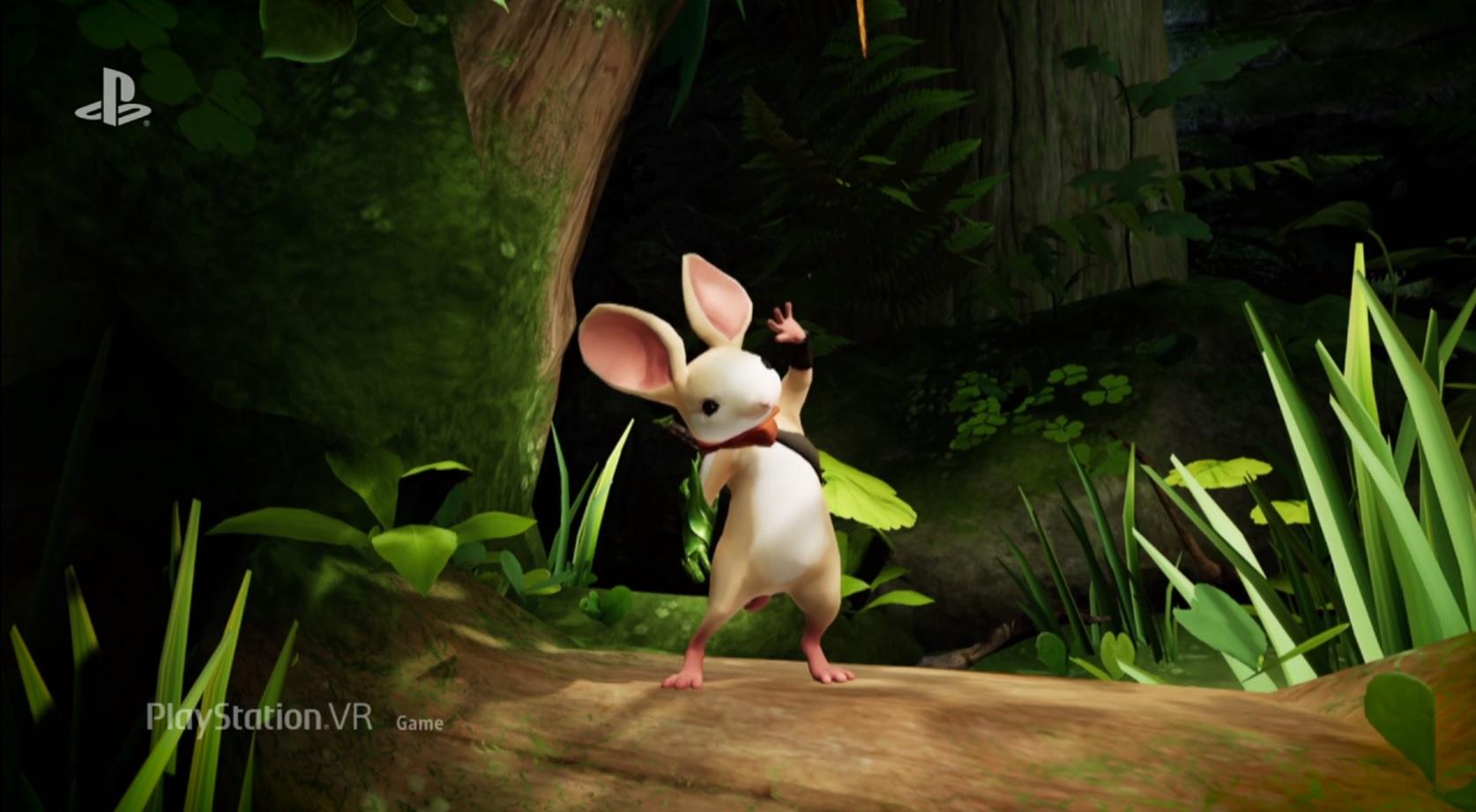 Fievel goes into virtual reality with Moss screenshot