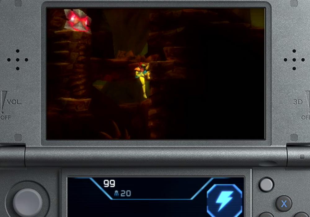 Nintendo reveals new Metroid 2 remake for 3DS screenshot